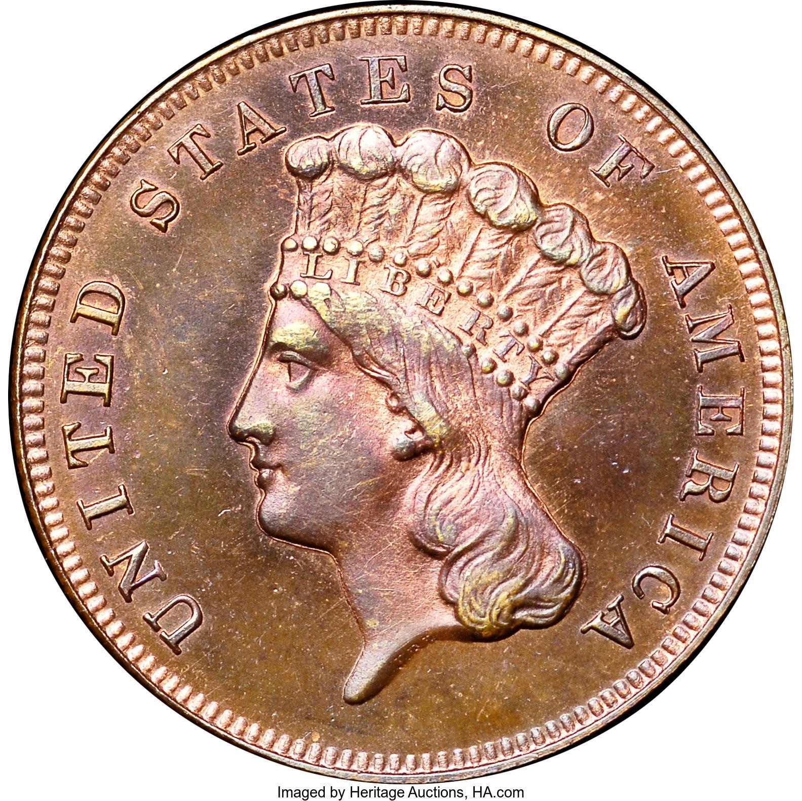 sample image for 1870 P$3 (J-1029) PR RB