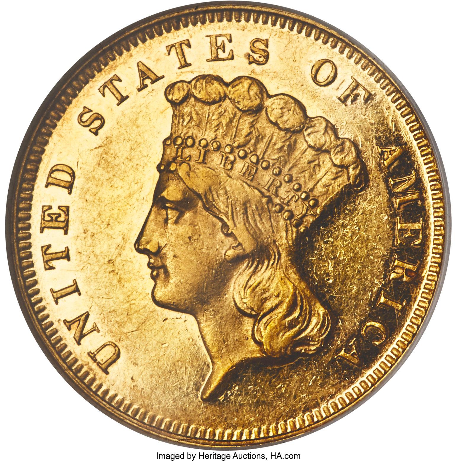 sample image for 1880 $3  PR