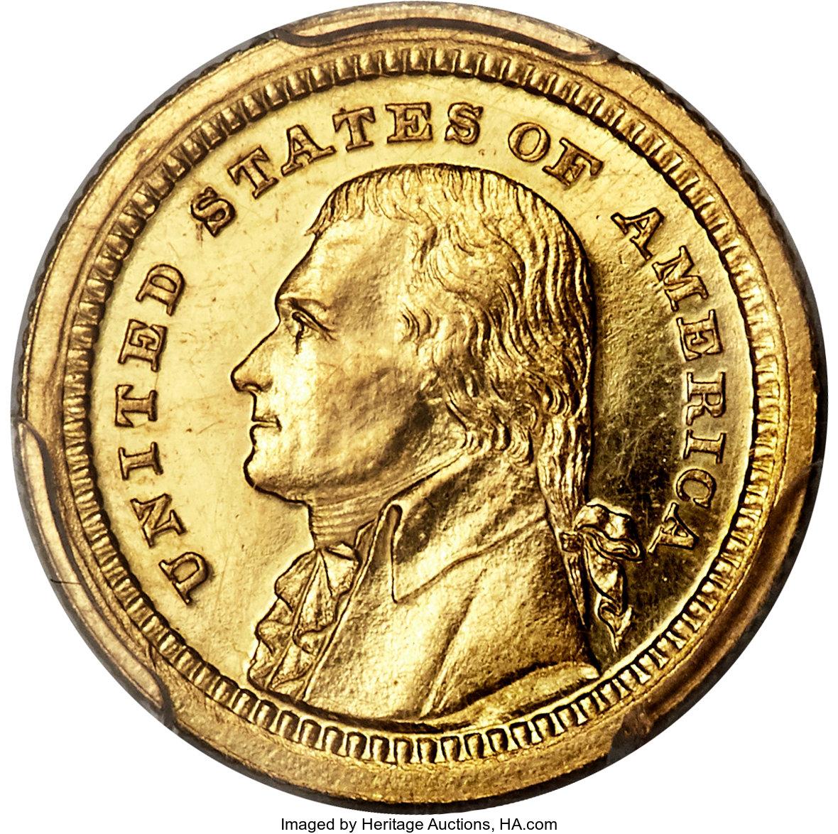 sample image for 1903 Jefferson G$1 PR