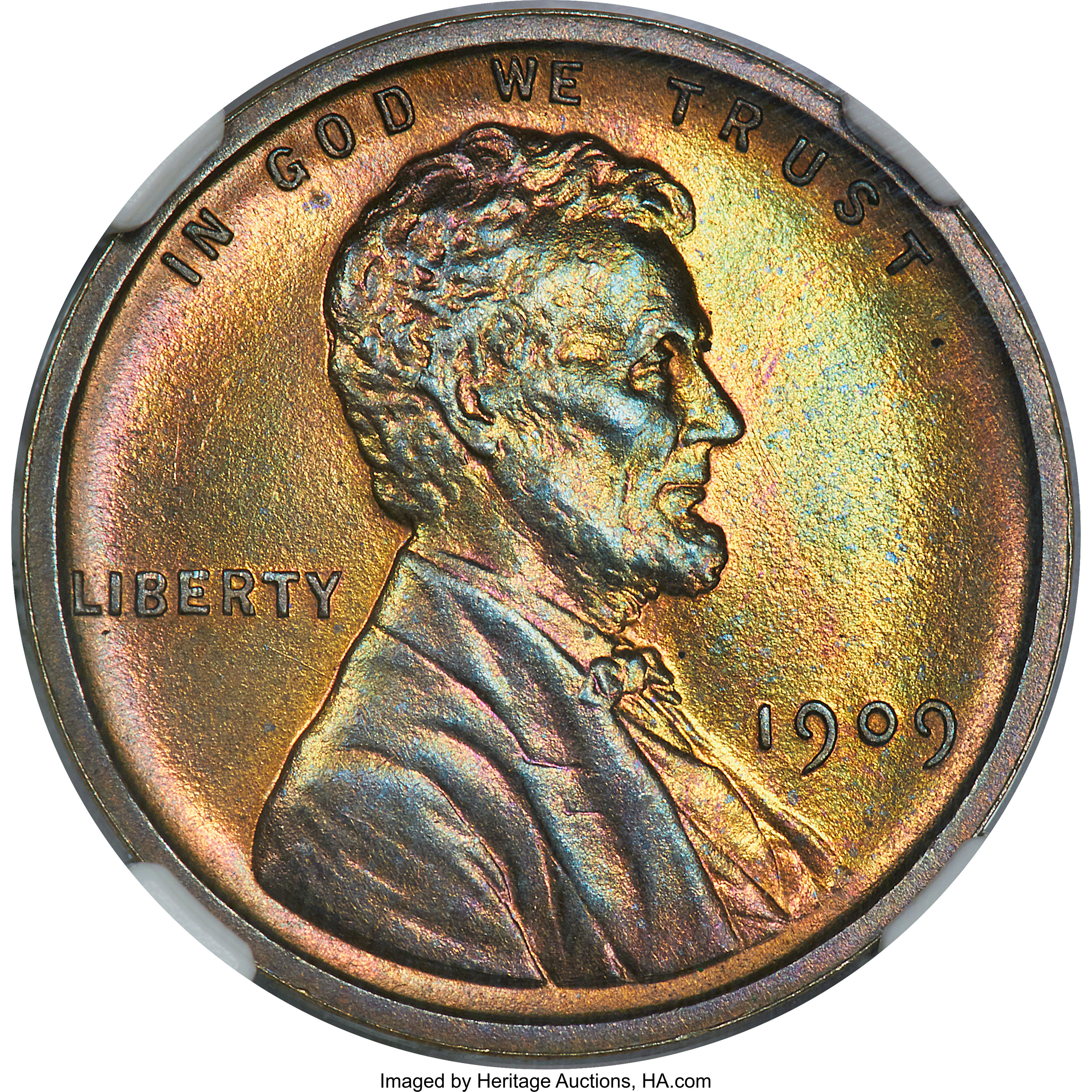 sample image for Lincoln PR (1909-1916) BN [Type]