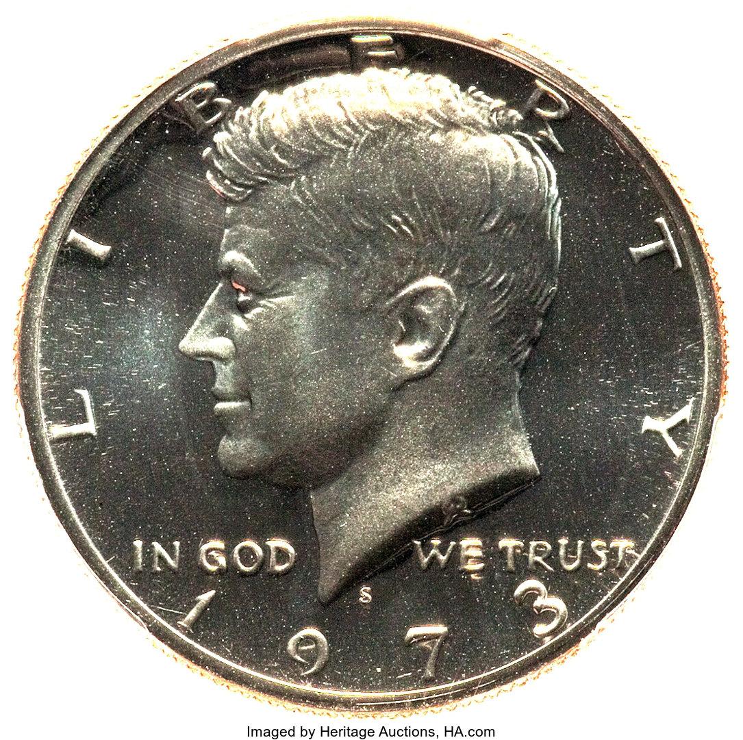 sample image for 1973-S 50c PR