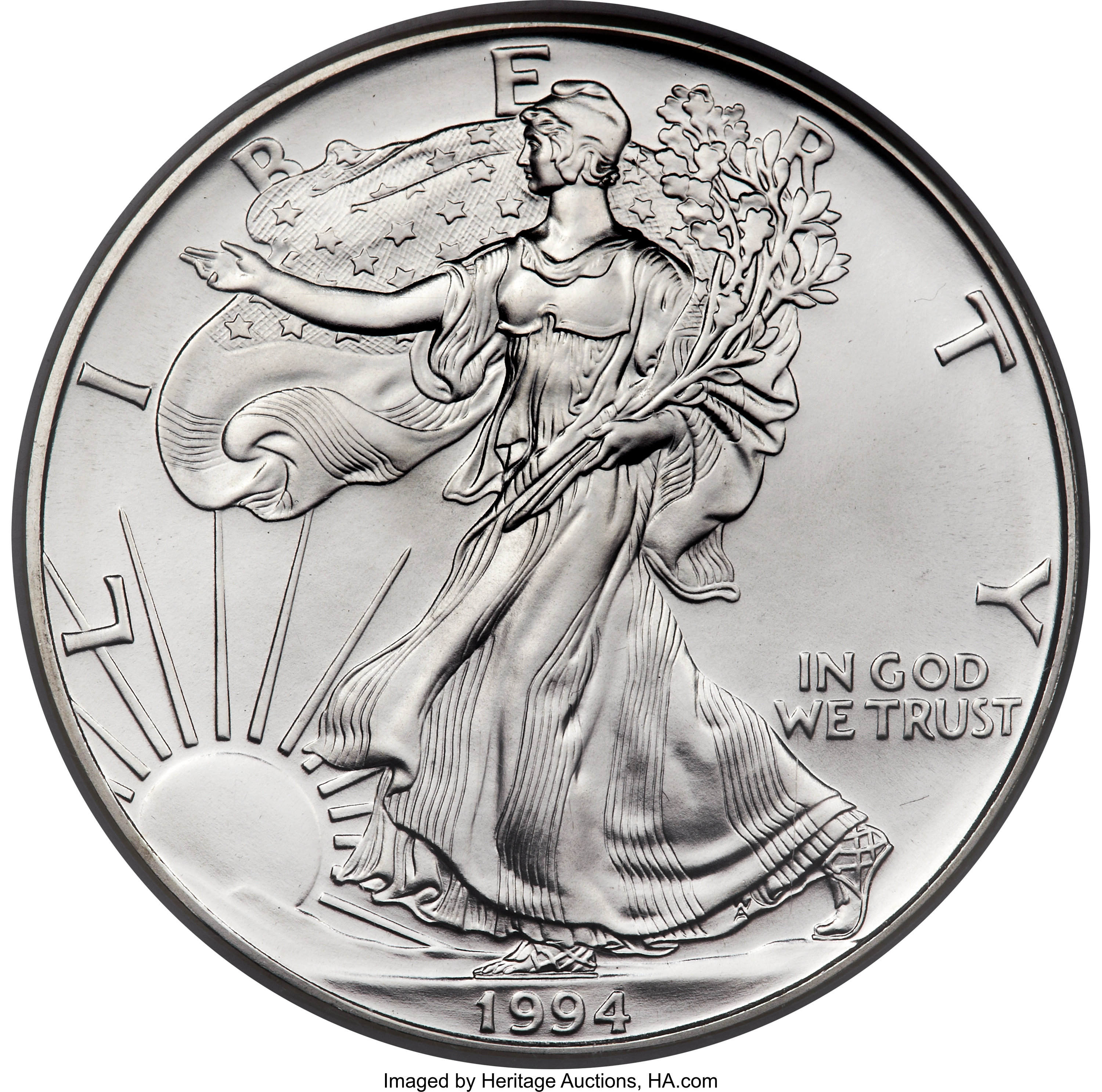 sample image for 1994 Silver Eagle $1  MS