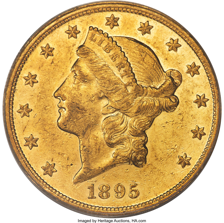 sample image for 1895 $20  PR