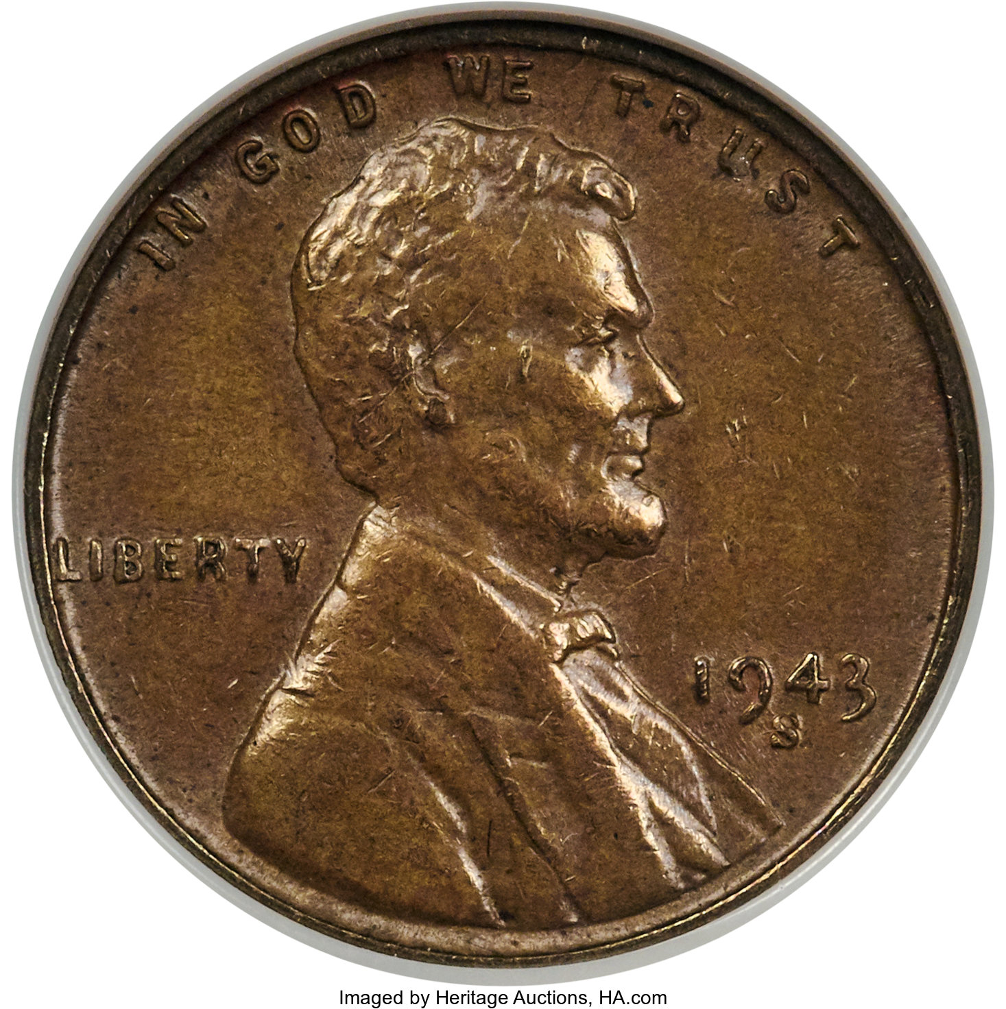sample image for 1943-S Bronze BN