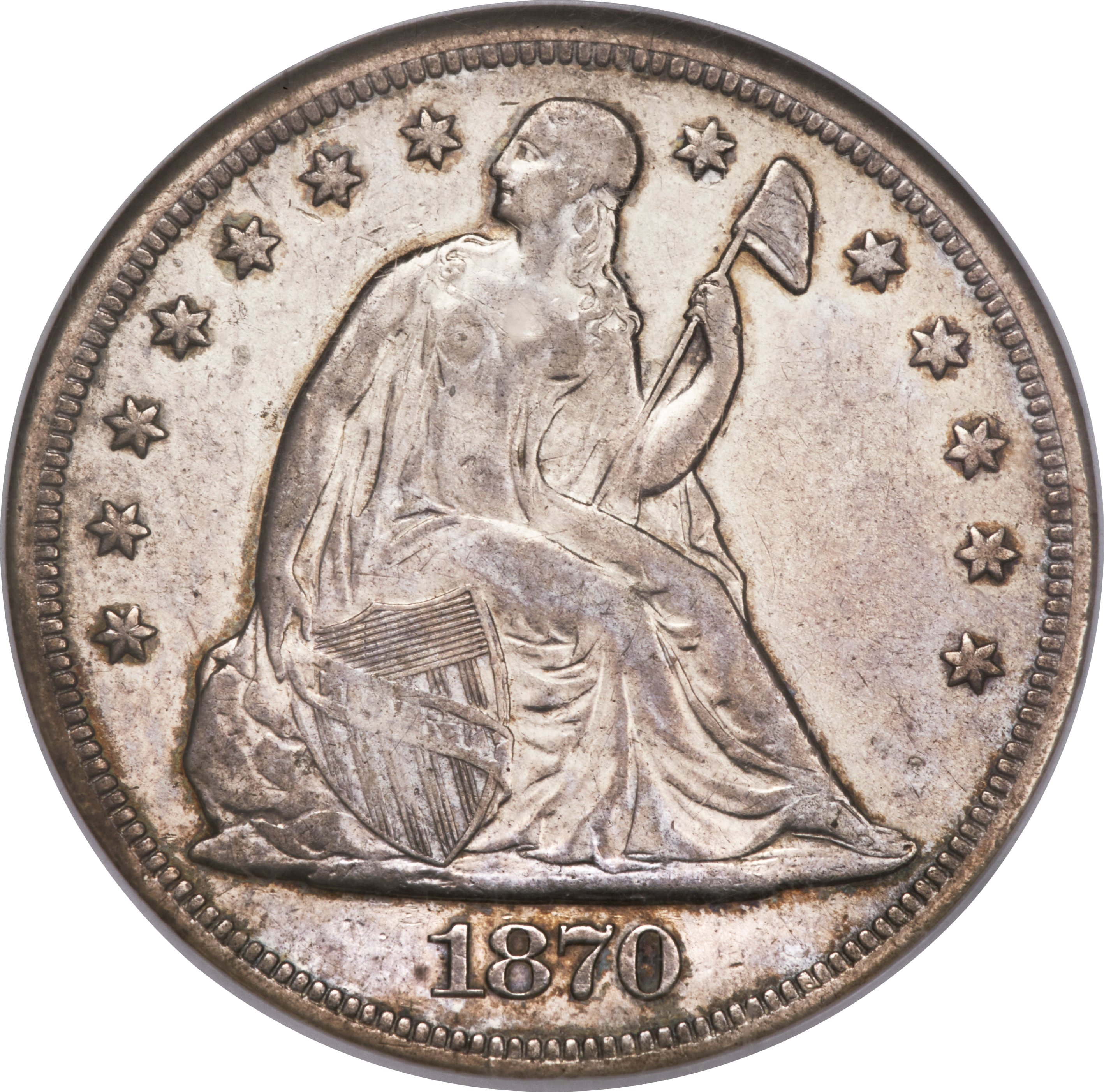sample image for 1870-S $1  MS