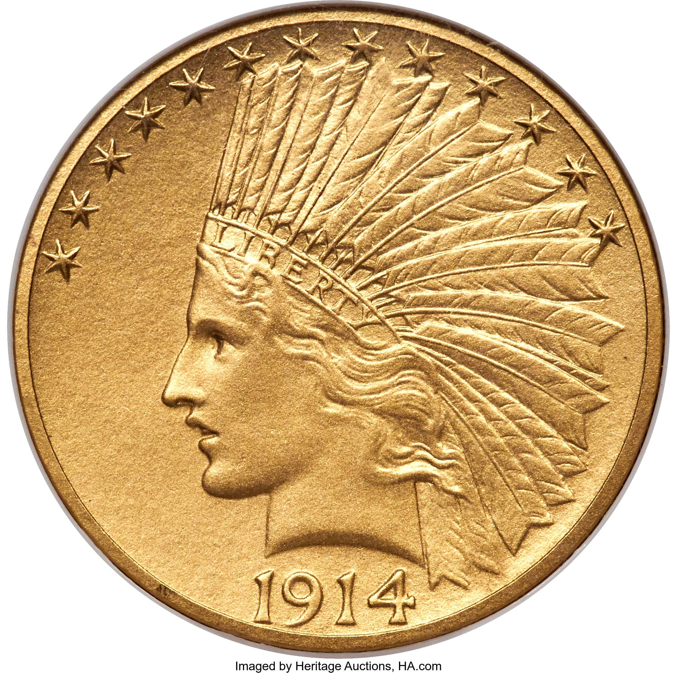 sample image for 1914 $10  PR