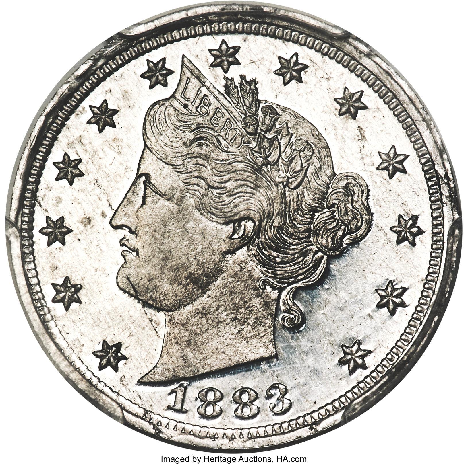 sample image for 1883 J-1720 P5c PR