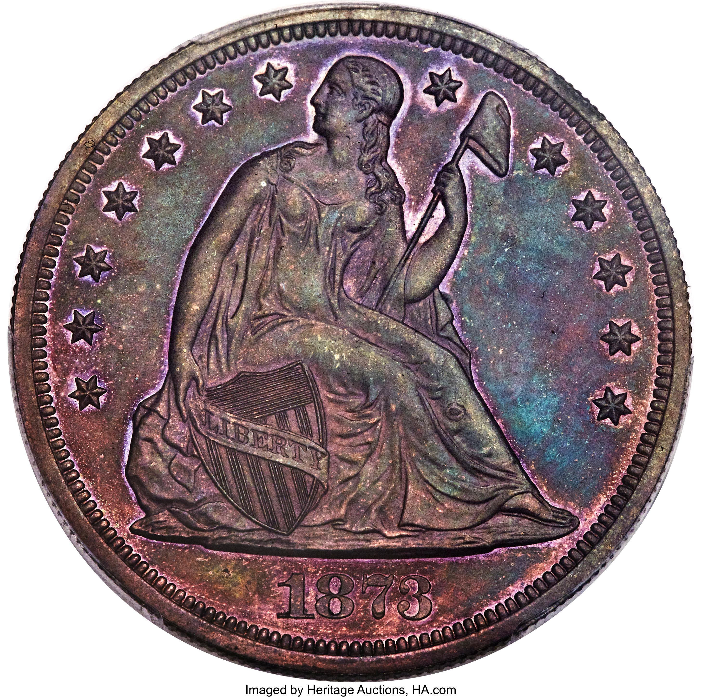 sample image for 1873 P$1 (J-1274) PR BN