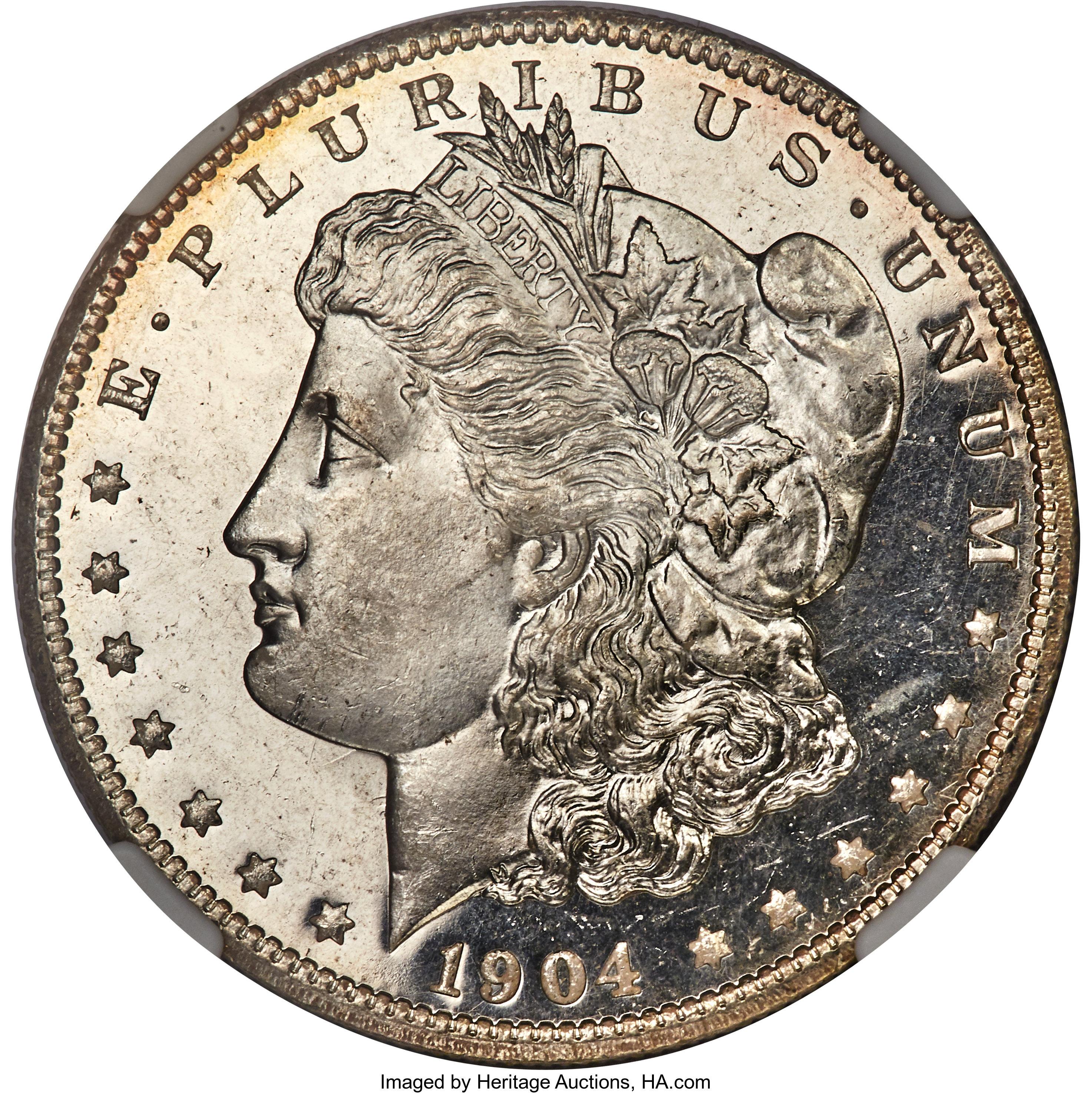 sample image for 1904-O $1  MS DMPL