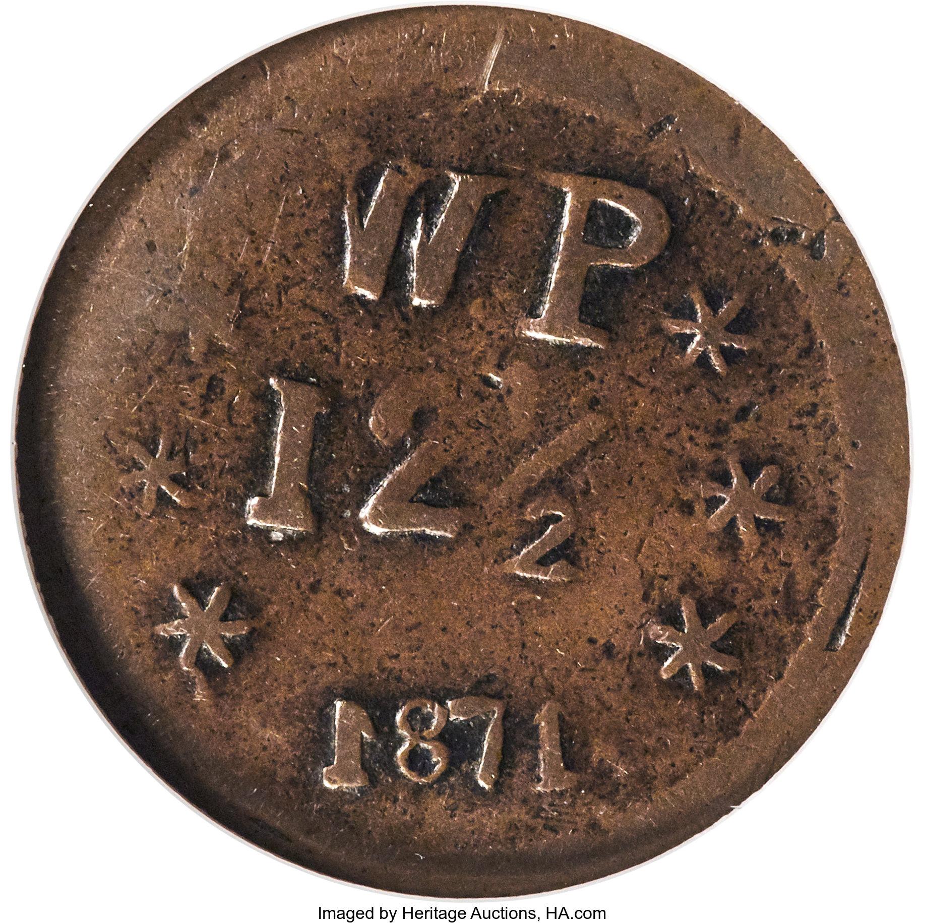 sample image for 1871 12 1/2c Wailuku