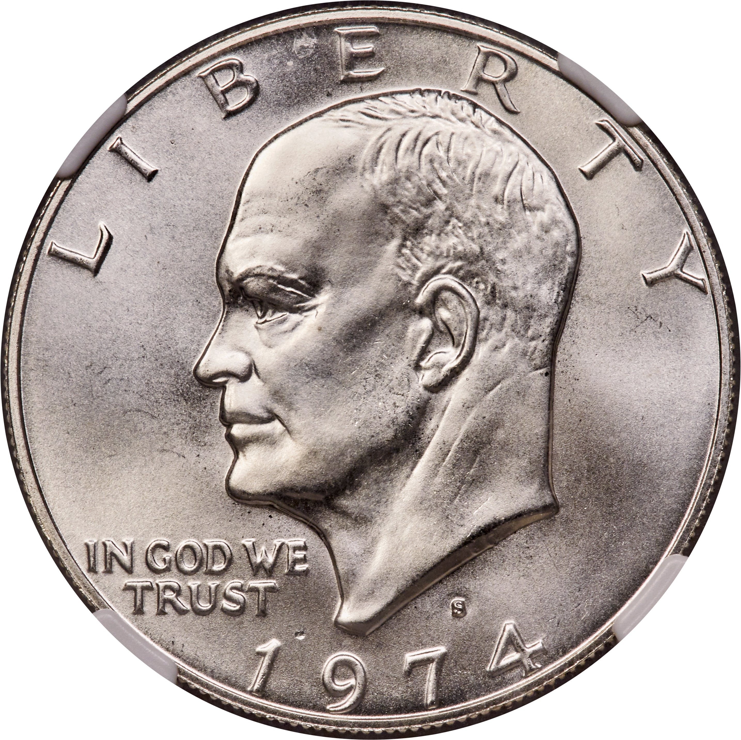 sample image for 1974-S $1  MS Silver