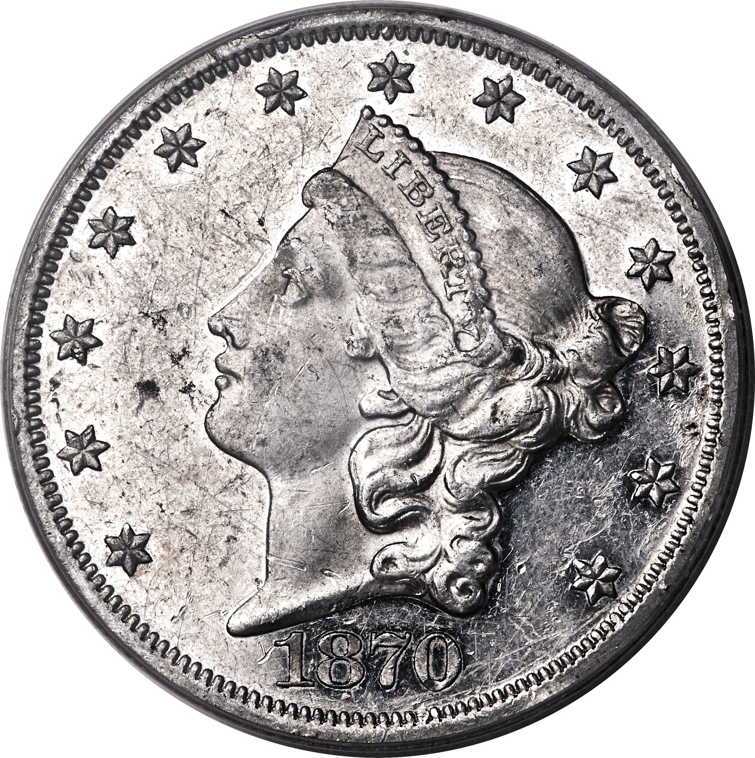 sample image for 1870 P$20 (J-1039) PR