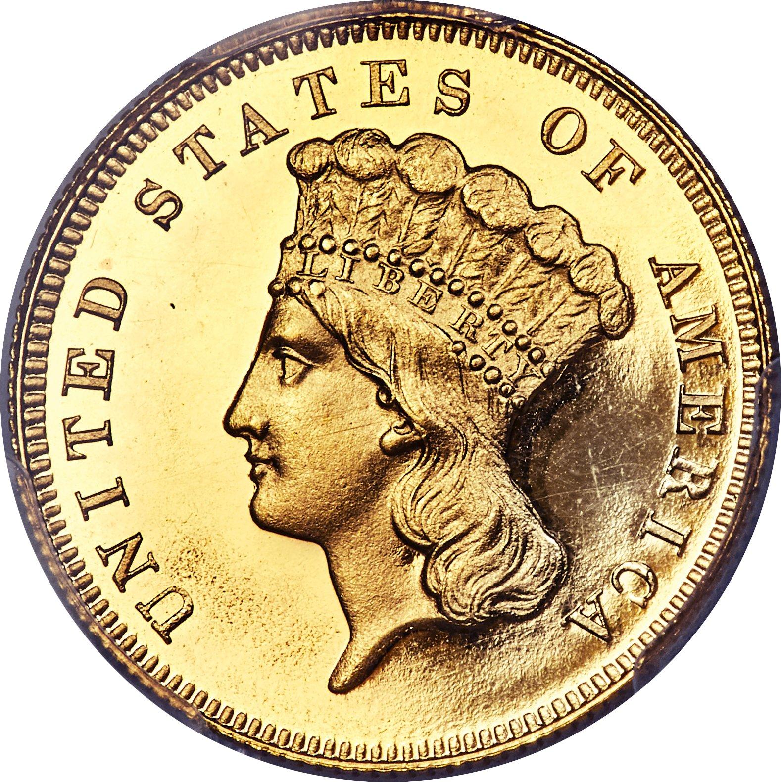 sample image for 1854-1889 $3  PR CAM [Type]