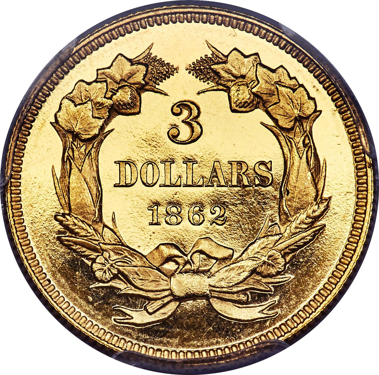 sample image for 1862 $3  PR DCAM