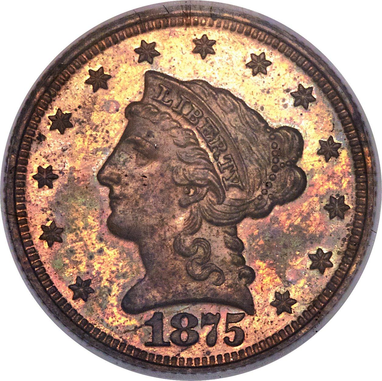sample image for 1875 P$2.50 (J-1434) PR BN