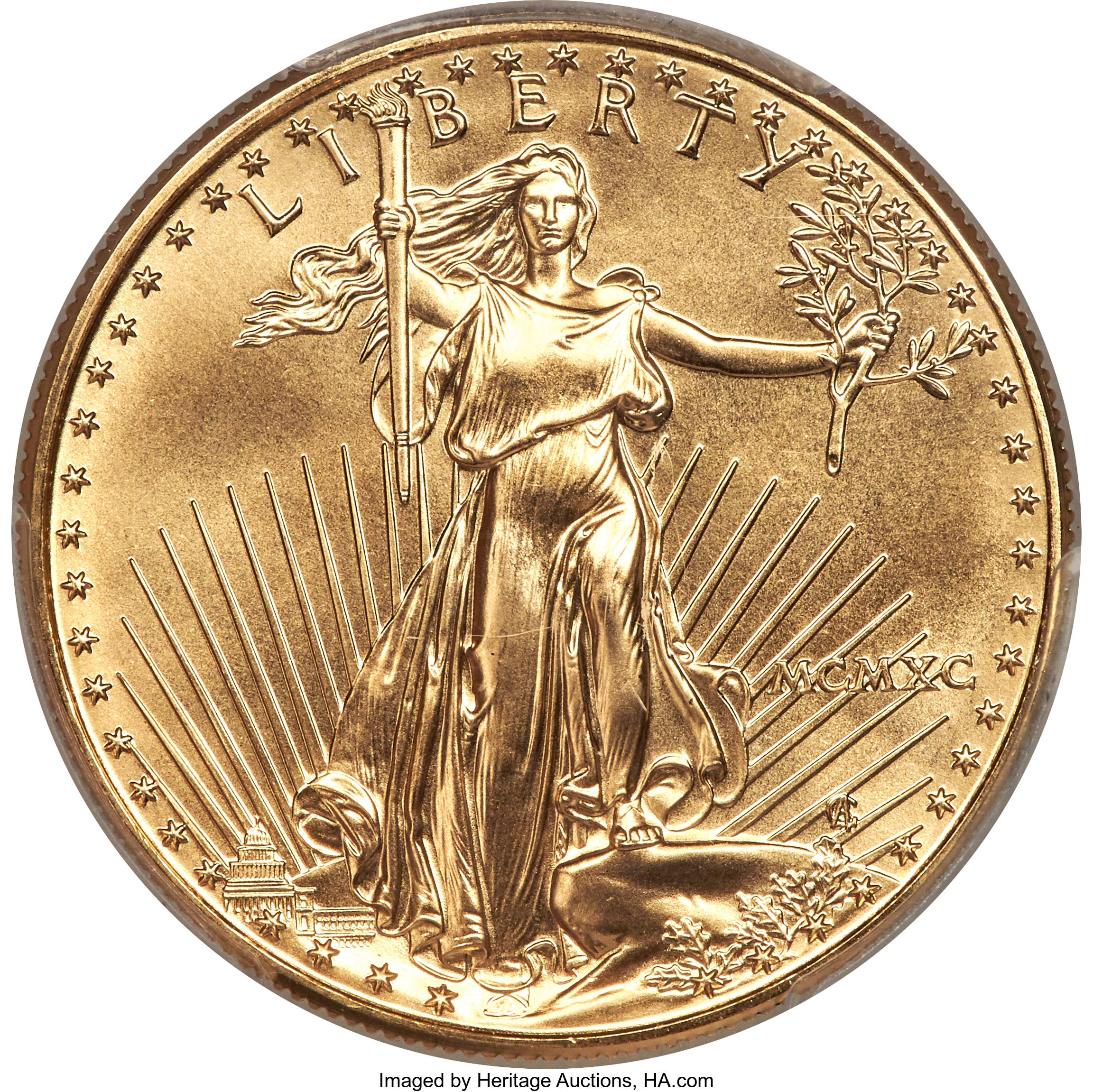 sample image for 1990 Gold Eagle $50  MS
