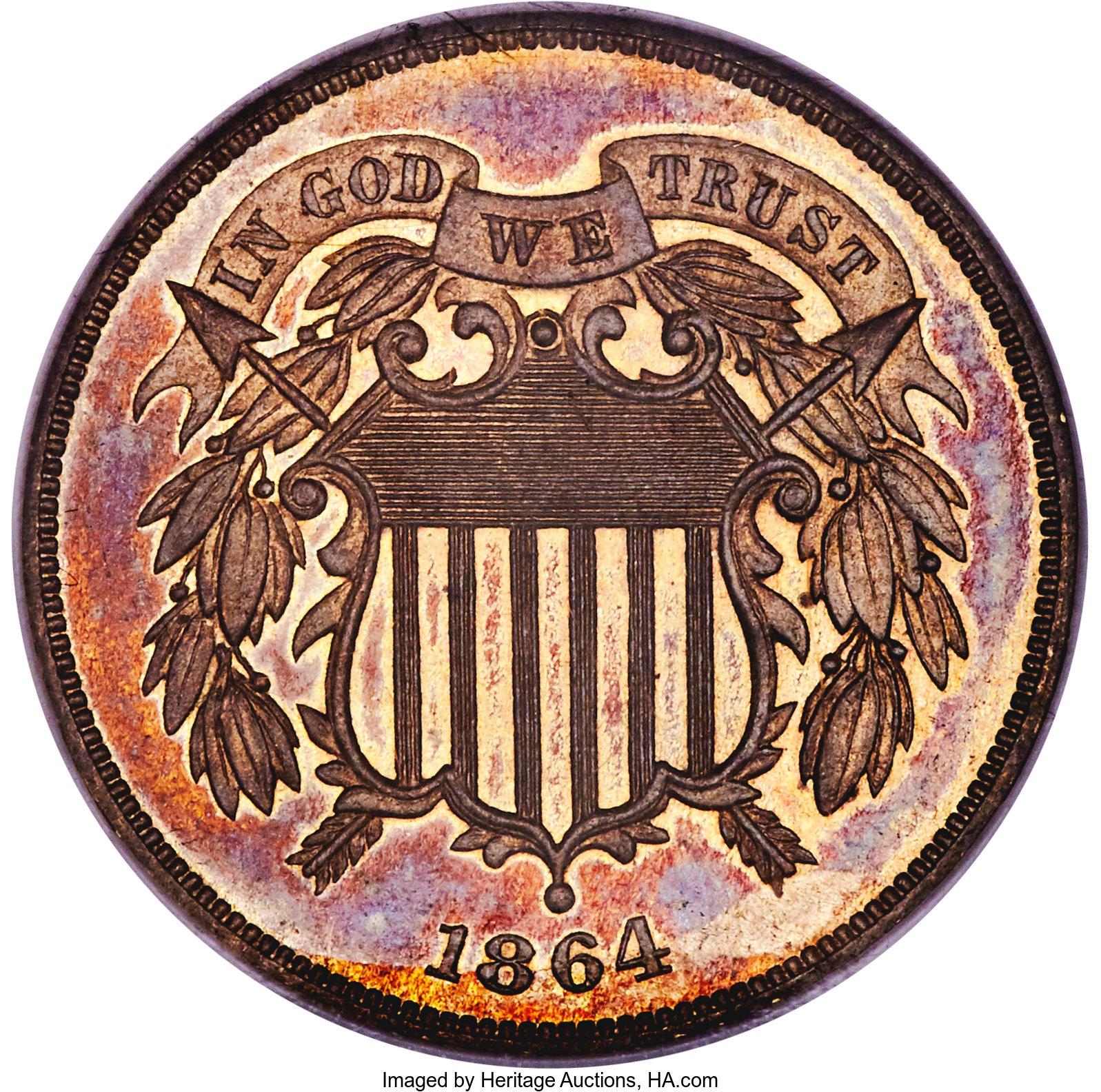 sample image for 1864 J-371 P2c PR