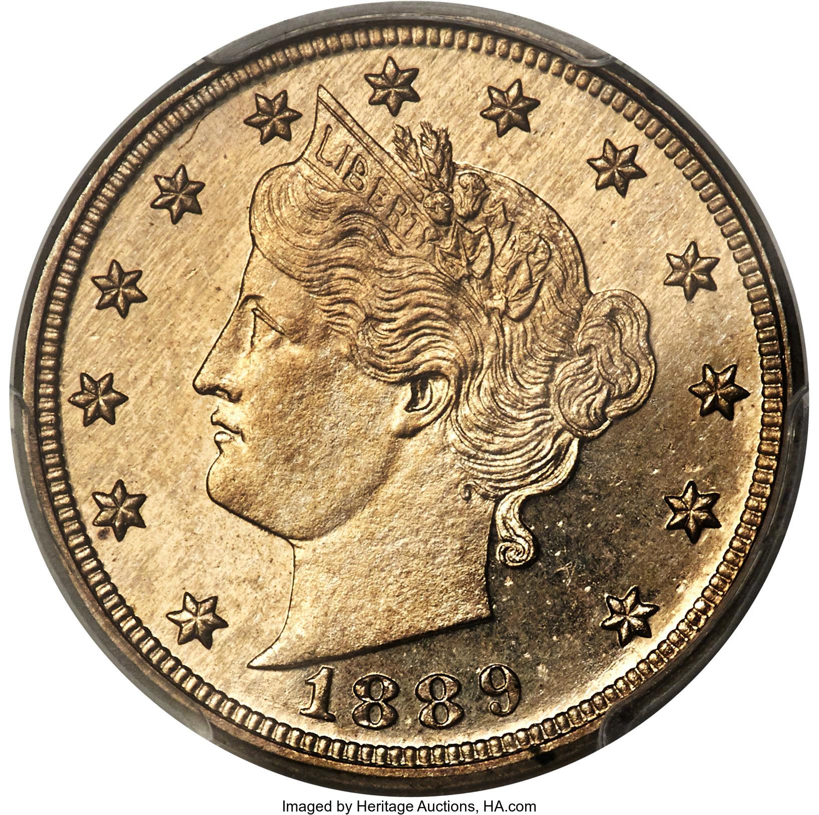 sample image for 1889 5c PR CAM
