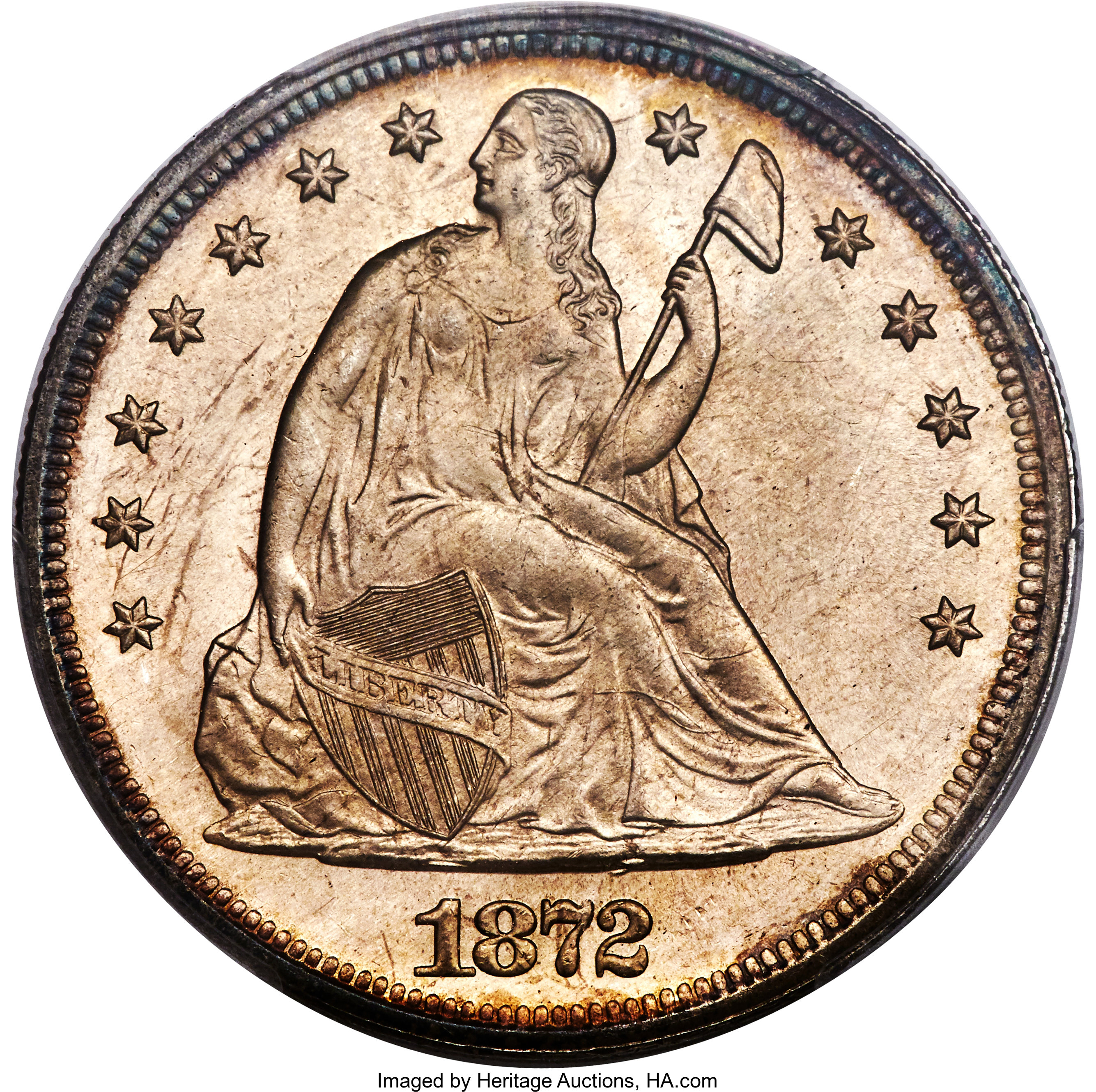 sample image for 1872 $1  MS