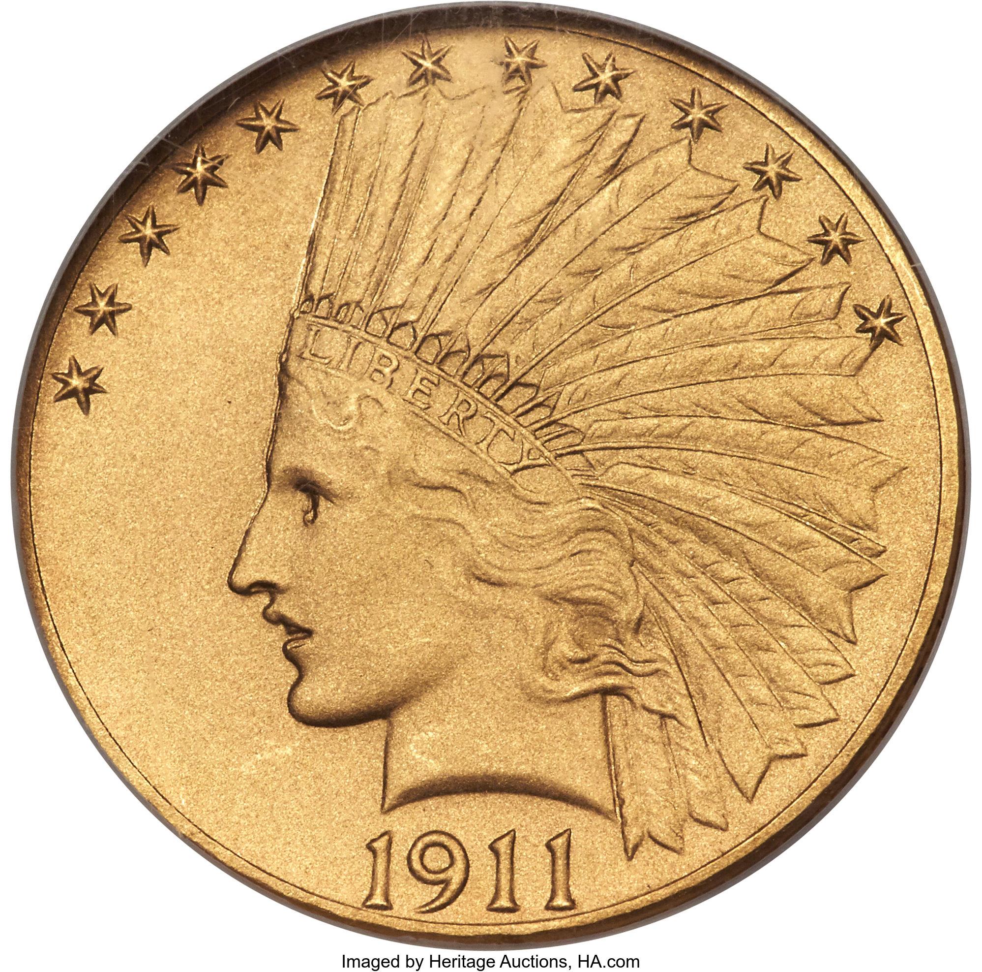 sample image for 1911 $10  PR