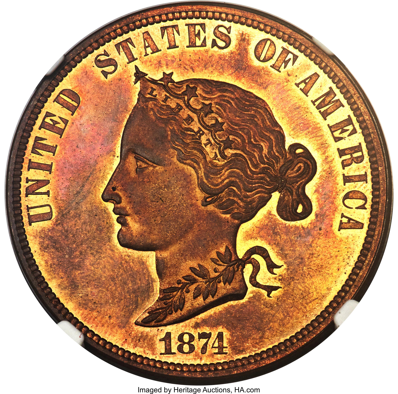 sample image for 1874 P$10 (J-1375) PR RB