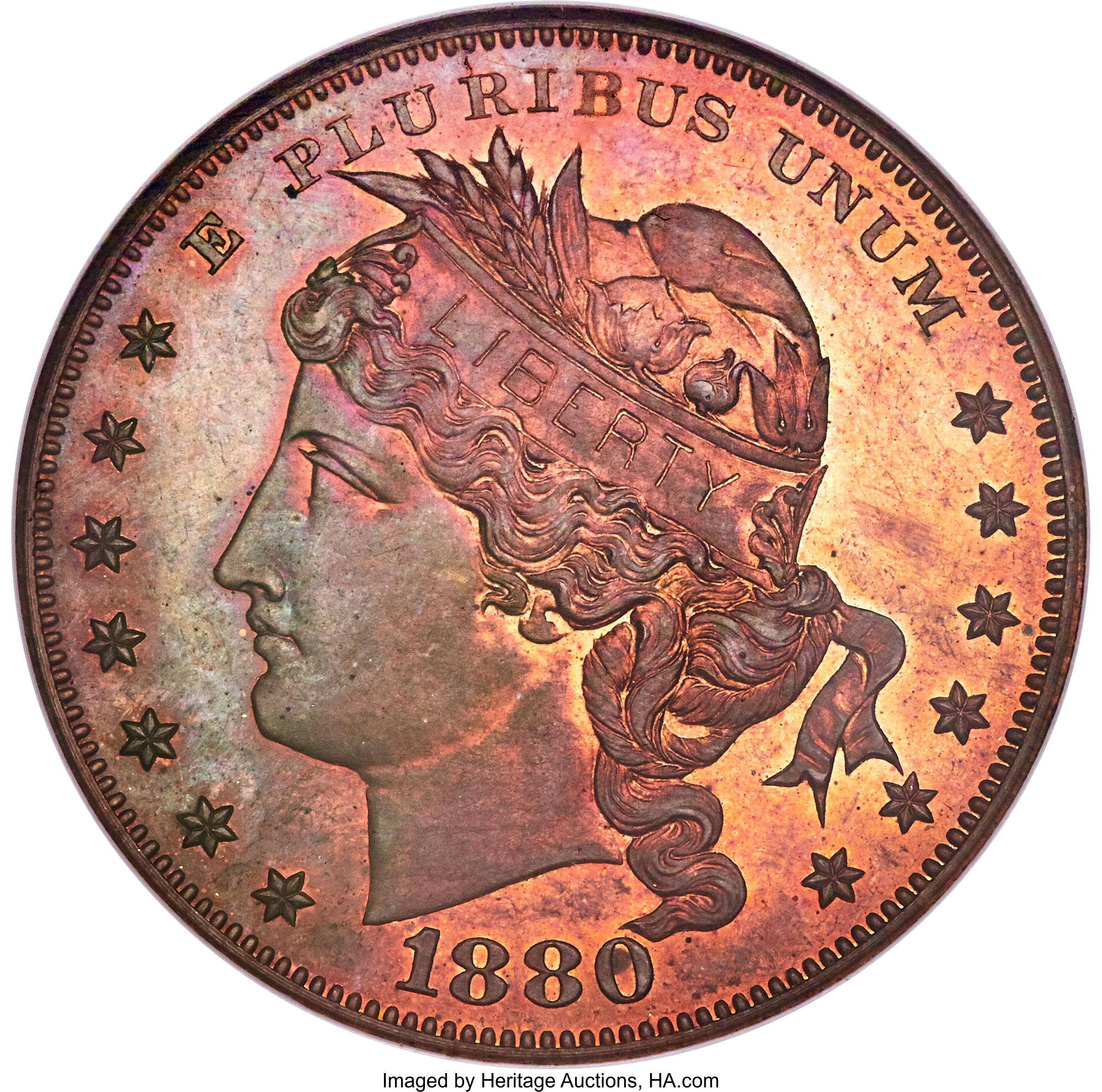 sample image for 1880 J-1652 P$1 PR RB
