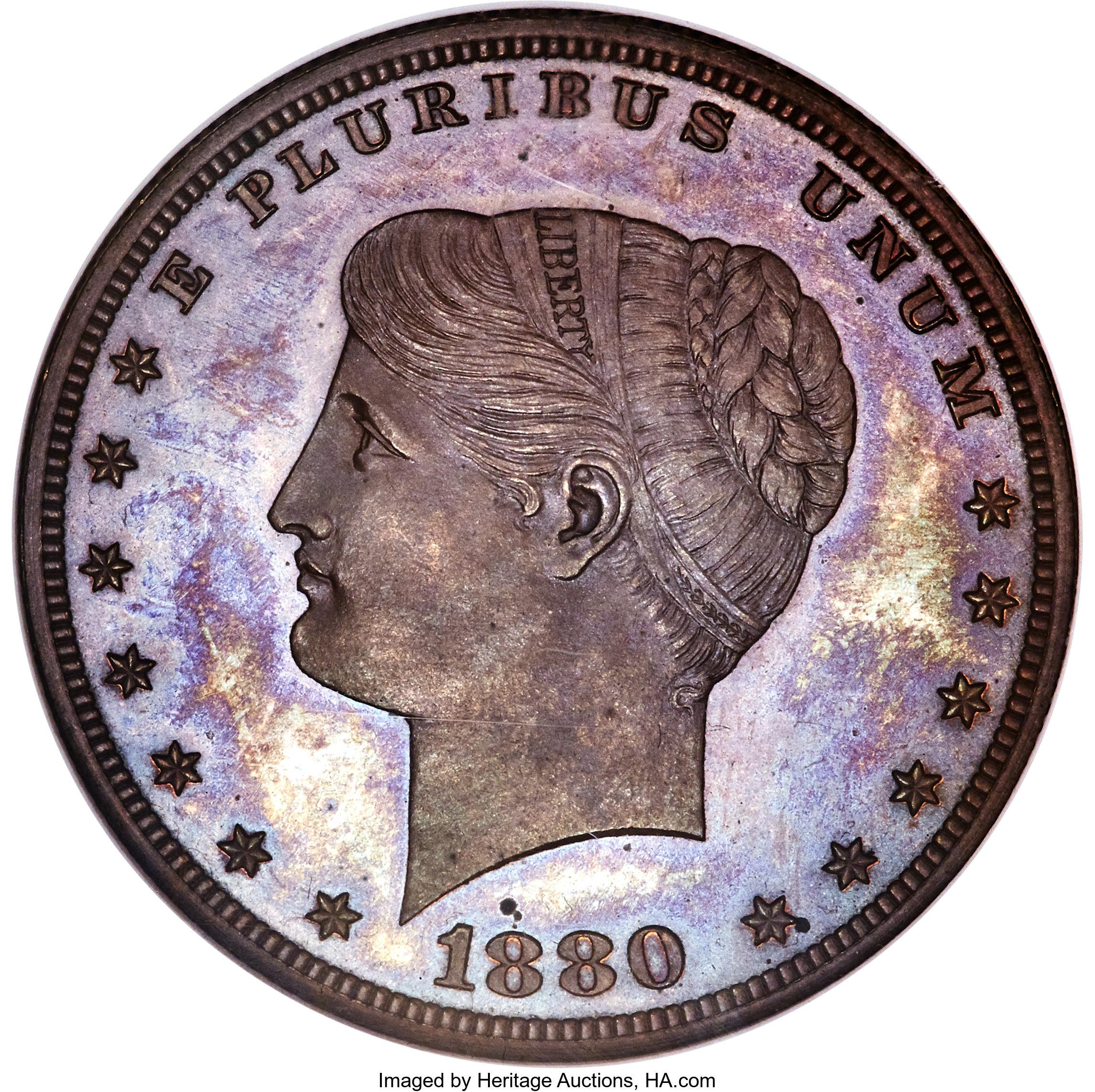 sample image for 1880 J-1655 P$1 PR BN