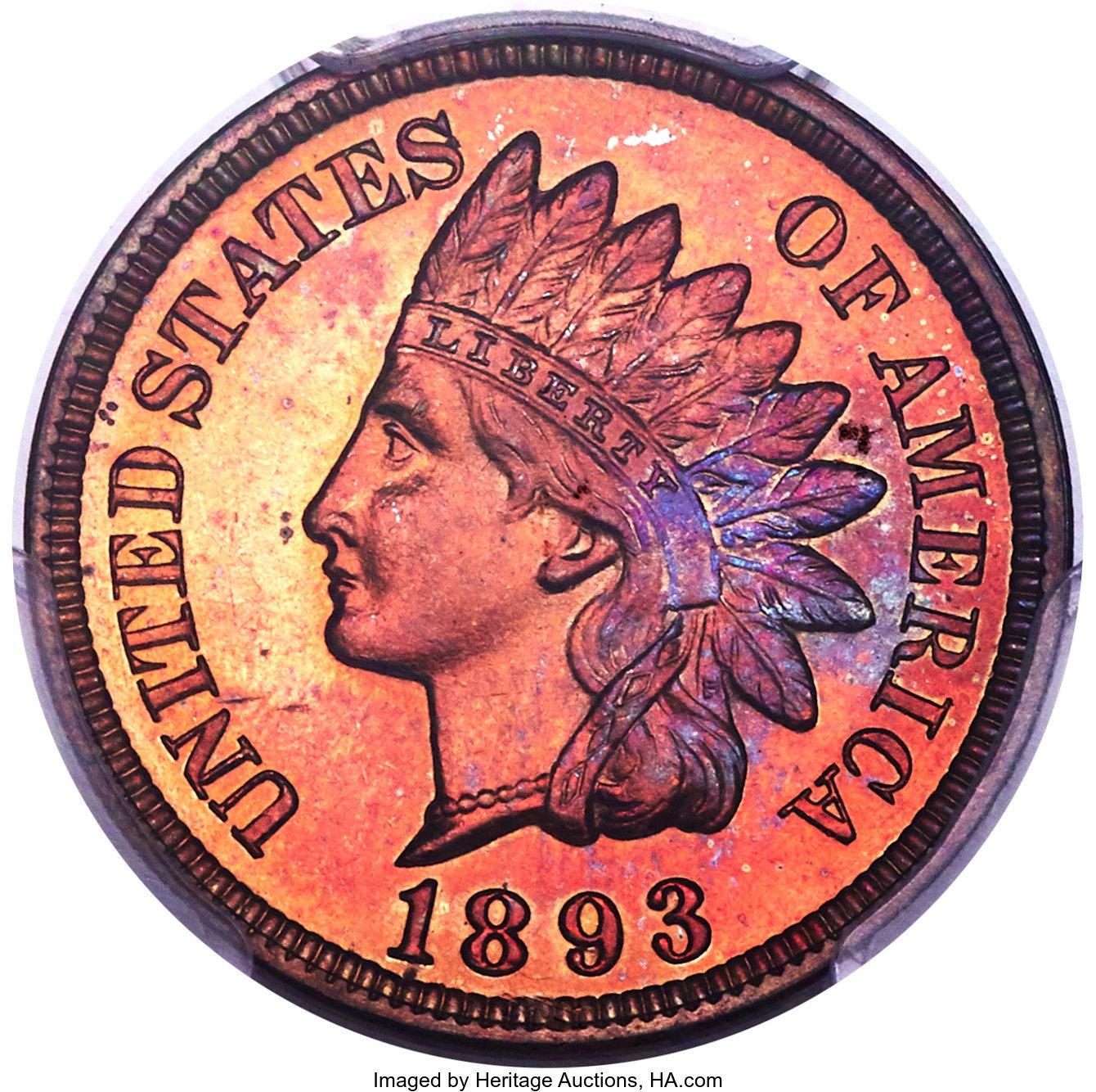 sample image for 1893 1c PR RB