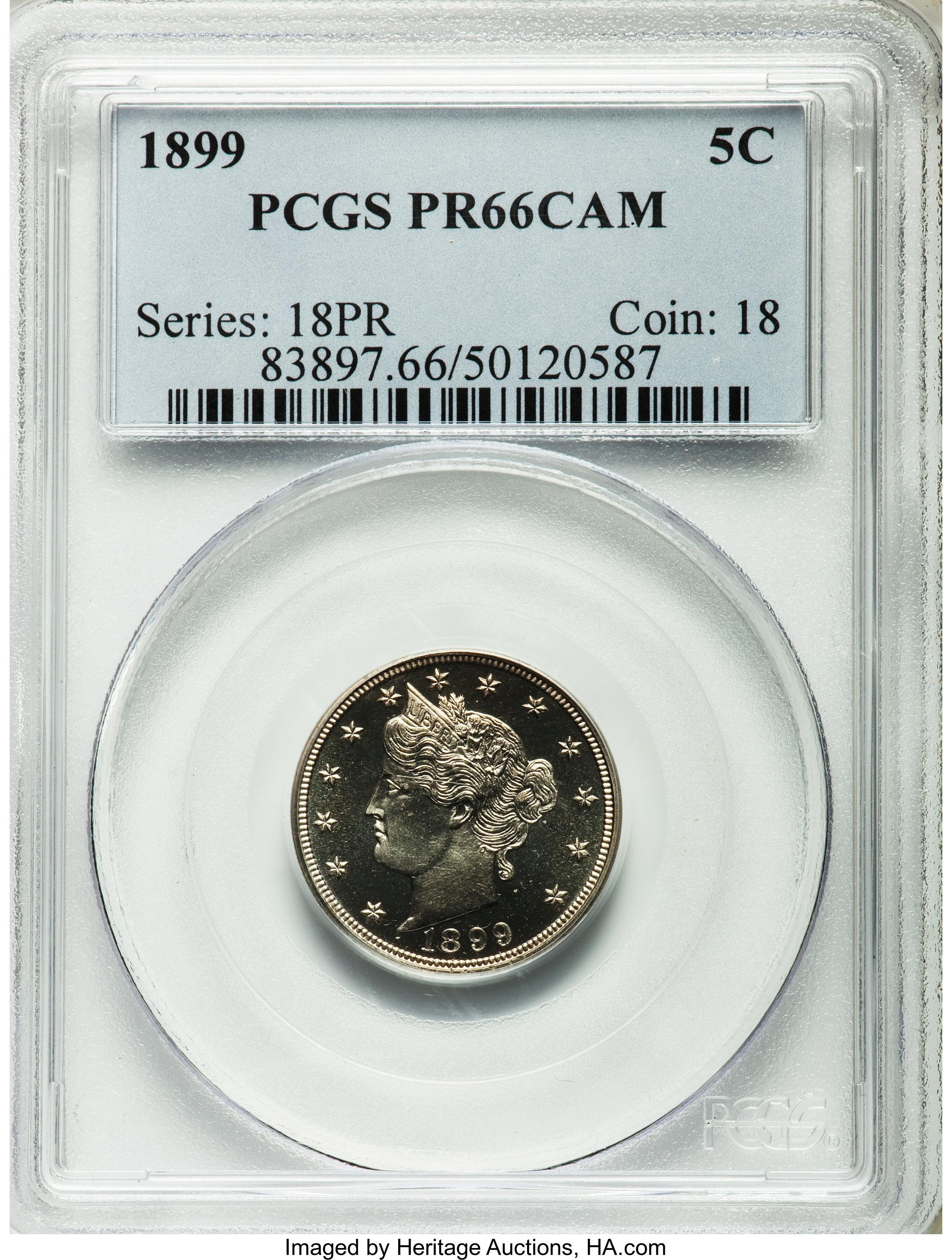 sample image for 1899 5c PR CAM