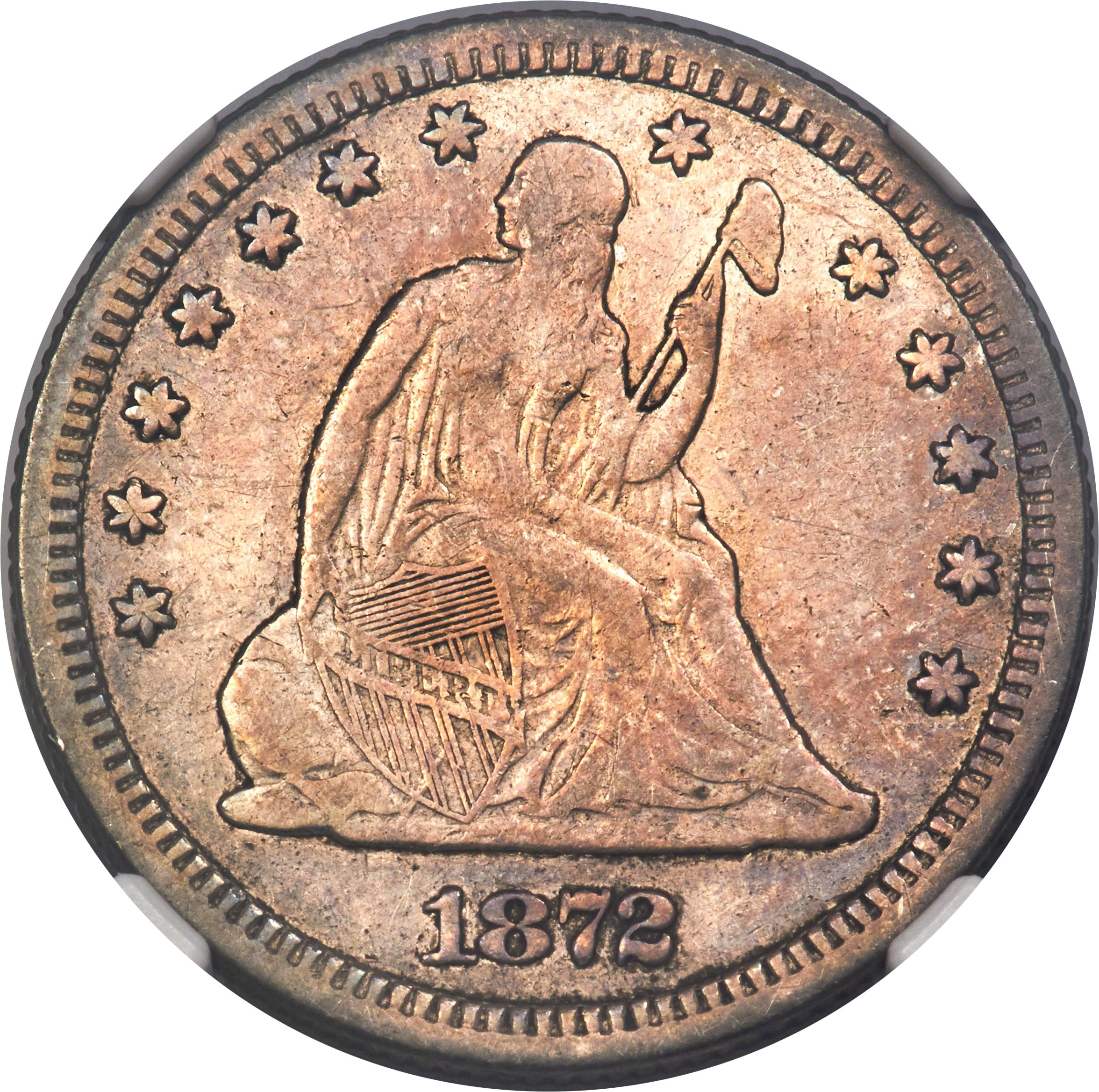 sample image for 1872-CC 25c MS