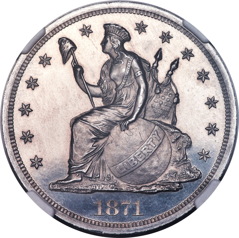 sample image for 1871 P$1 (J-1150) PR