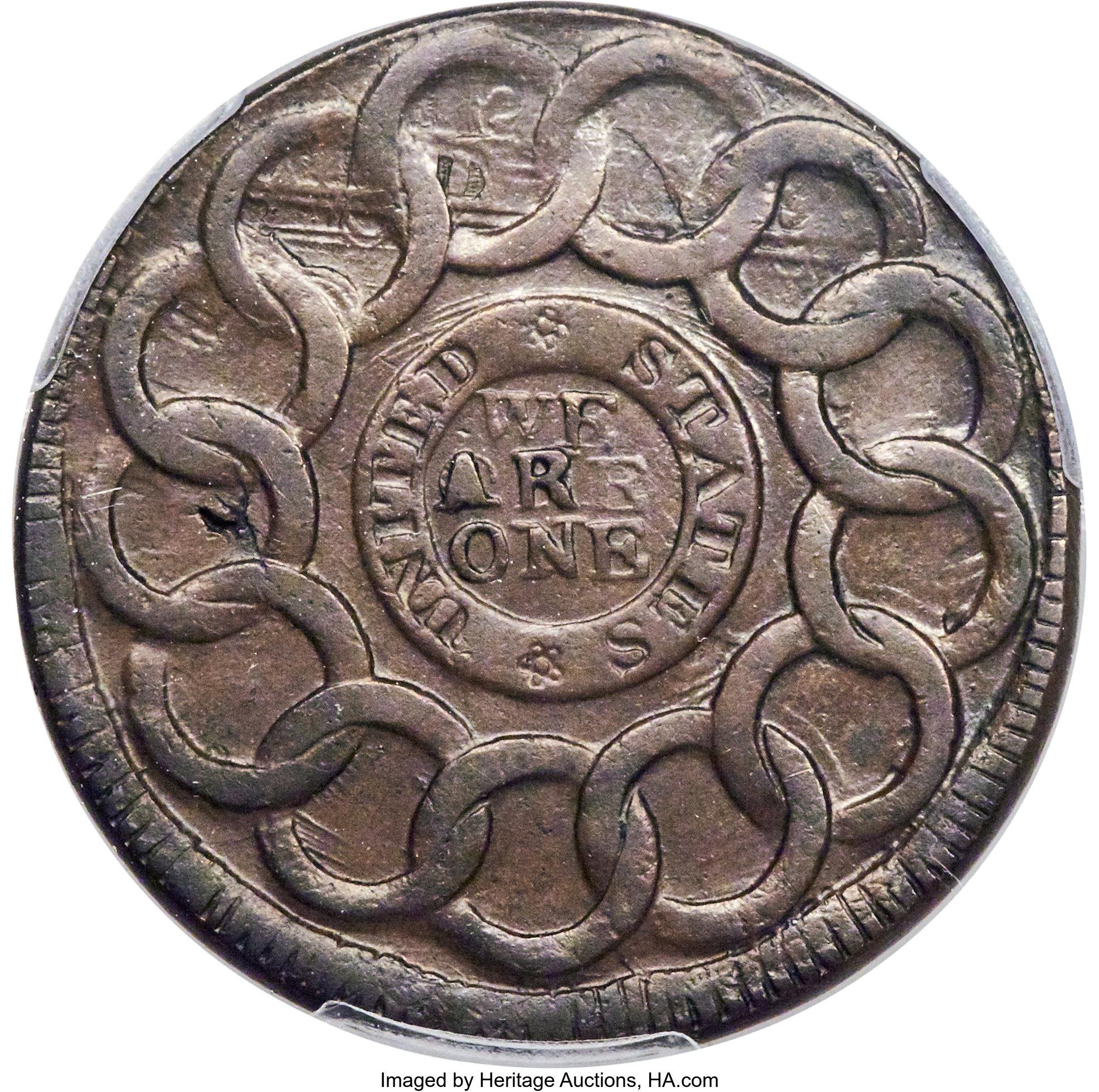 sample image for 1787 Fugio No Cinq, UNITED STATES BN