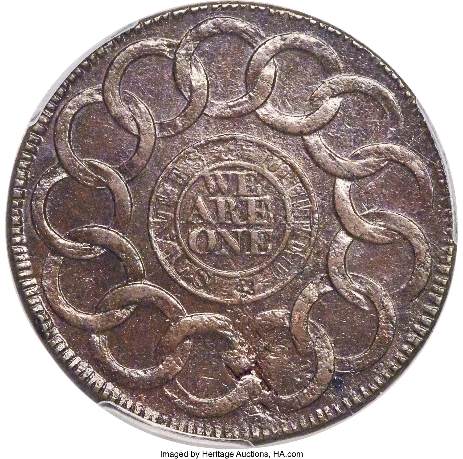 sample image for 1787 Fugio Cinq, Raised Rims BN