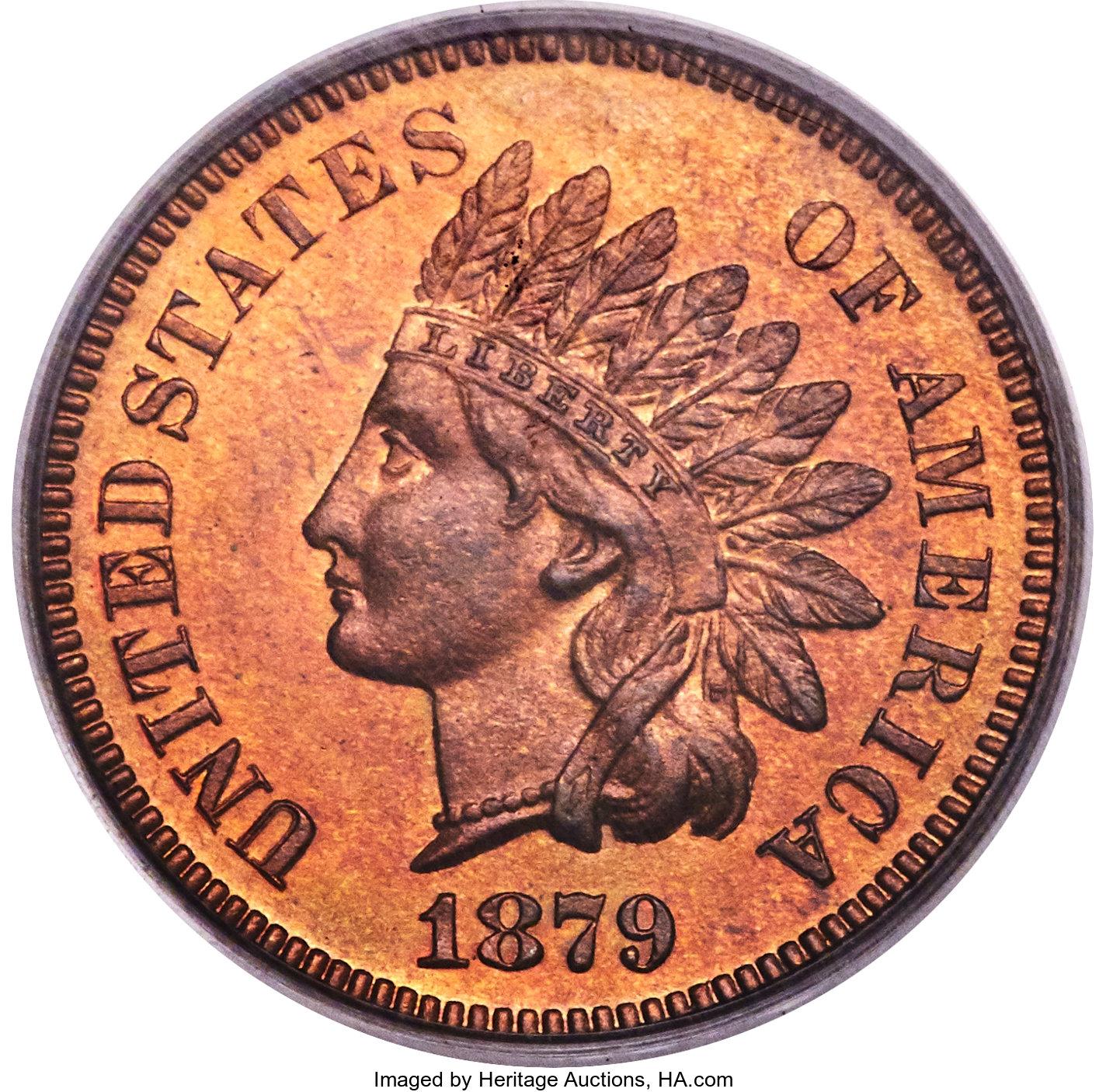 sample image for 1879 1c PR RB