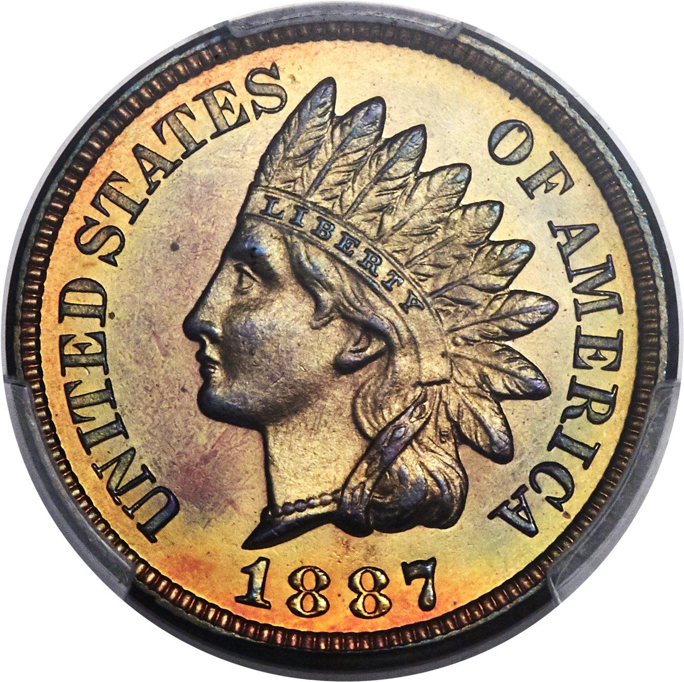 sample image for 1887 1c PR RB
