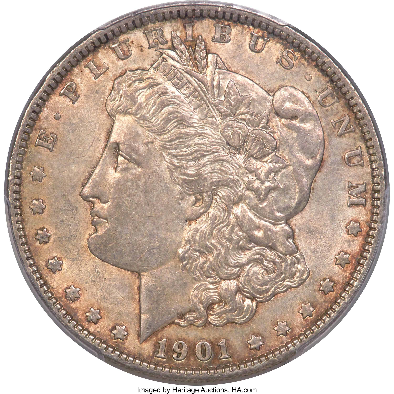 sample image for 1921-D $1  MS VAM-1A2, TRU_T Variety