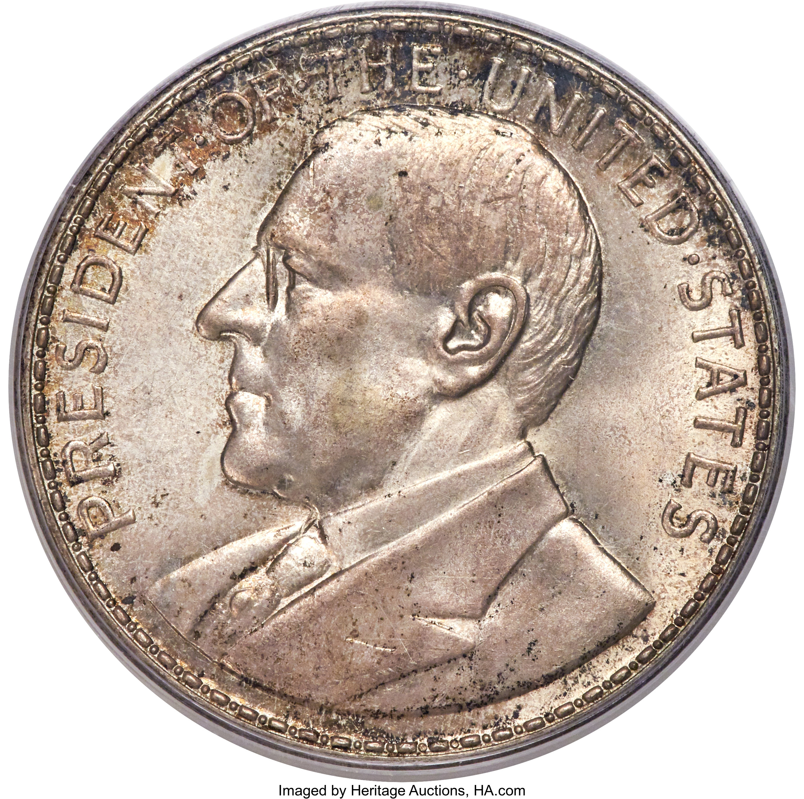 sample image for 1920 Wilson Dollar, Opening of Manila Mint, Silver SC$1 MS (HK-449)