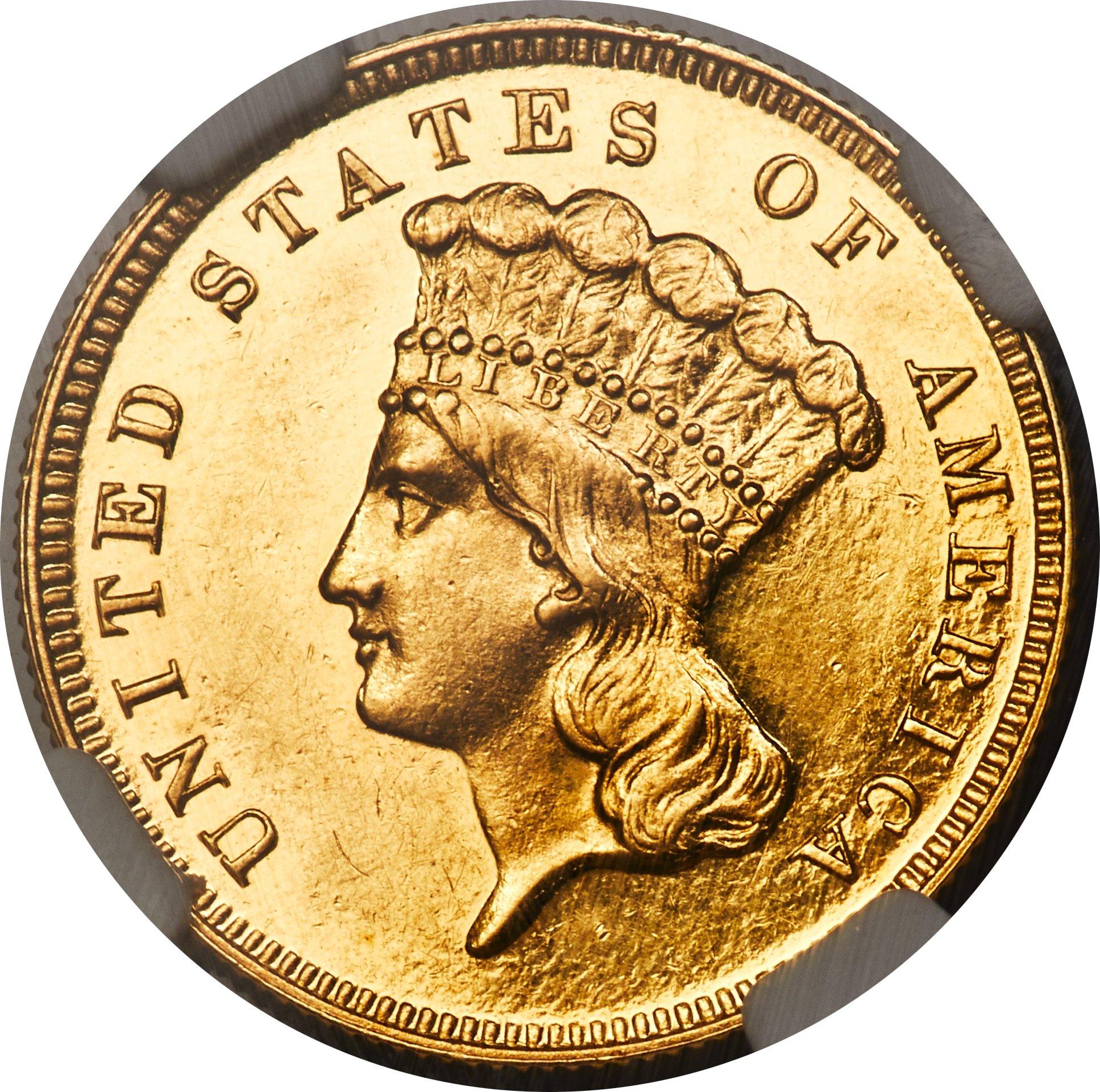 sample image for 1889 $3  PR CAM