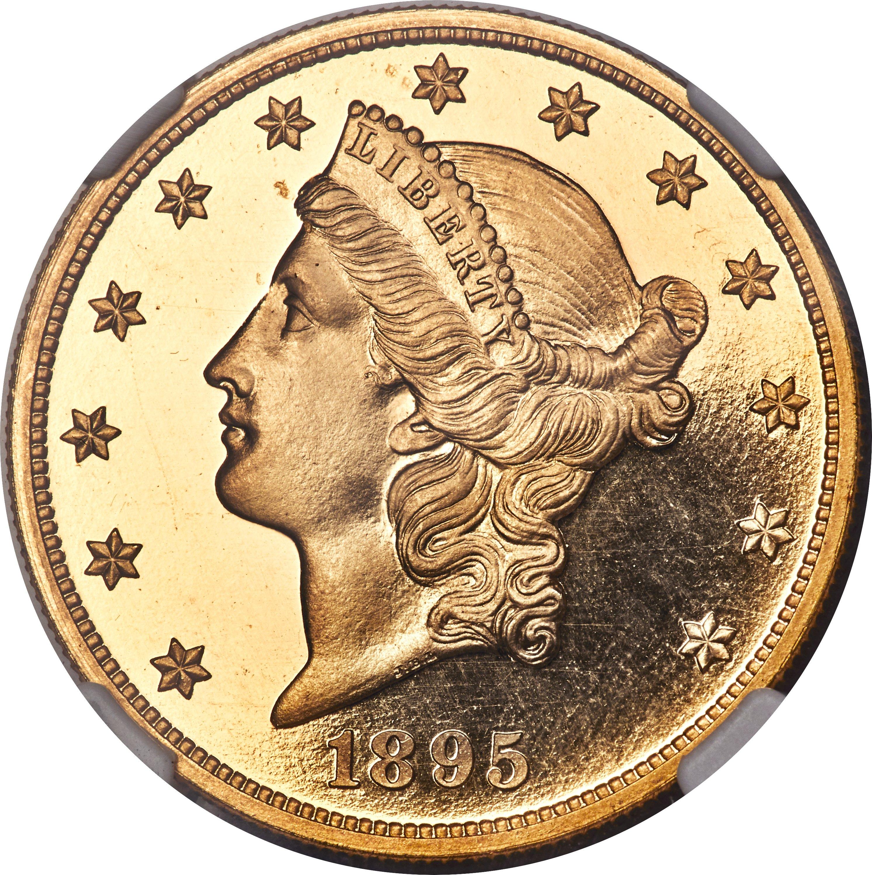 sample image for 1895 $20  PR DCAM