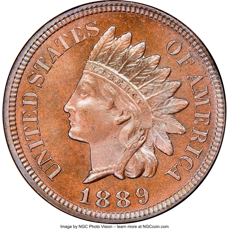 sample image for 1889 1c PR BN