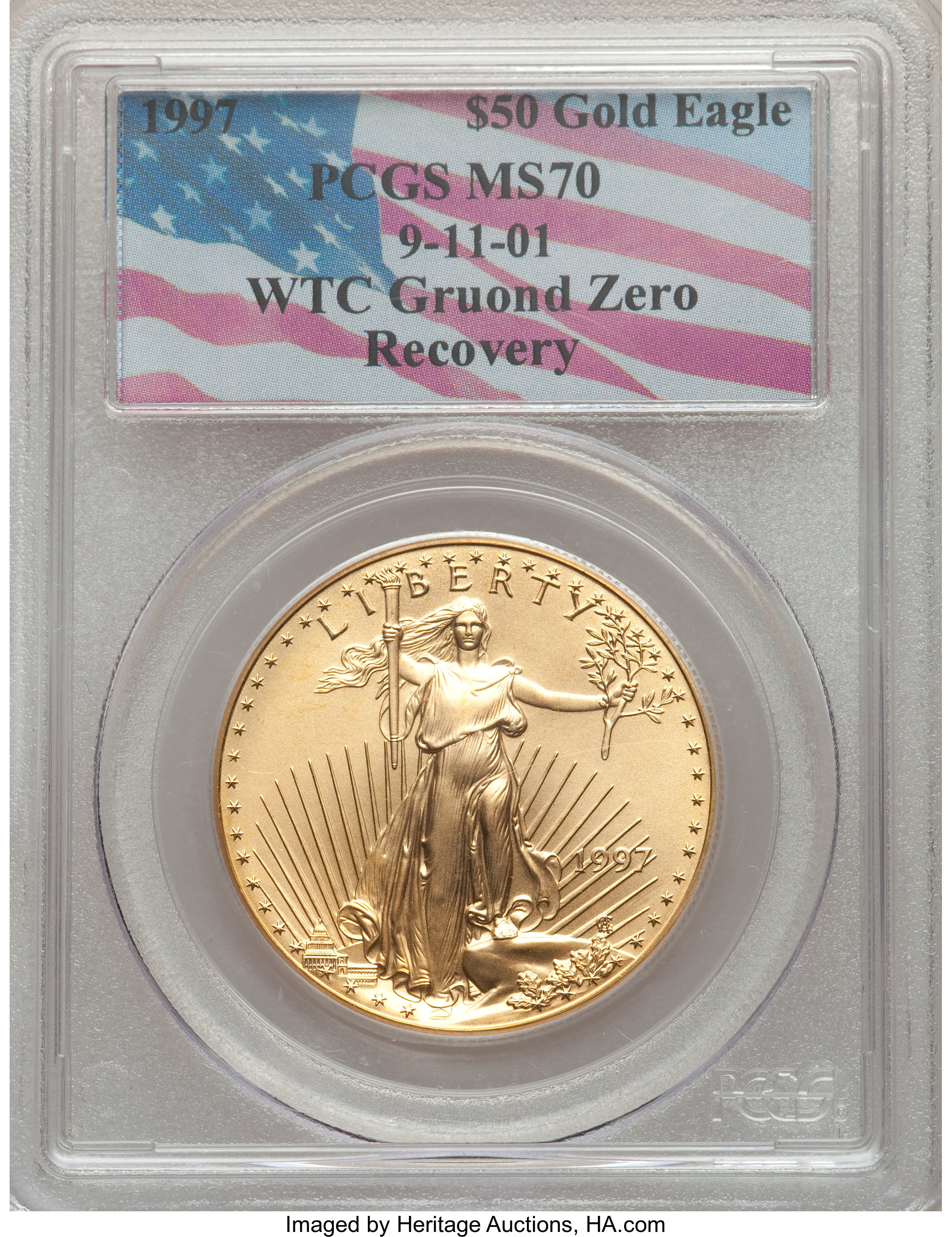 sample image for 1997 Gold Eagle $50  MS