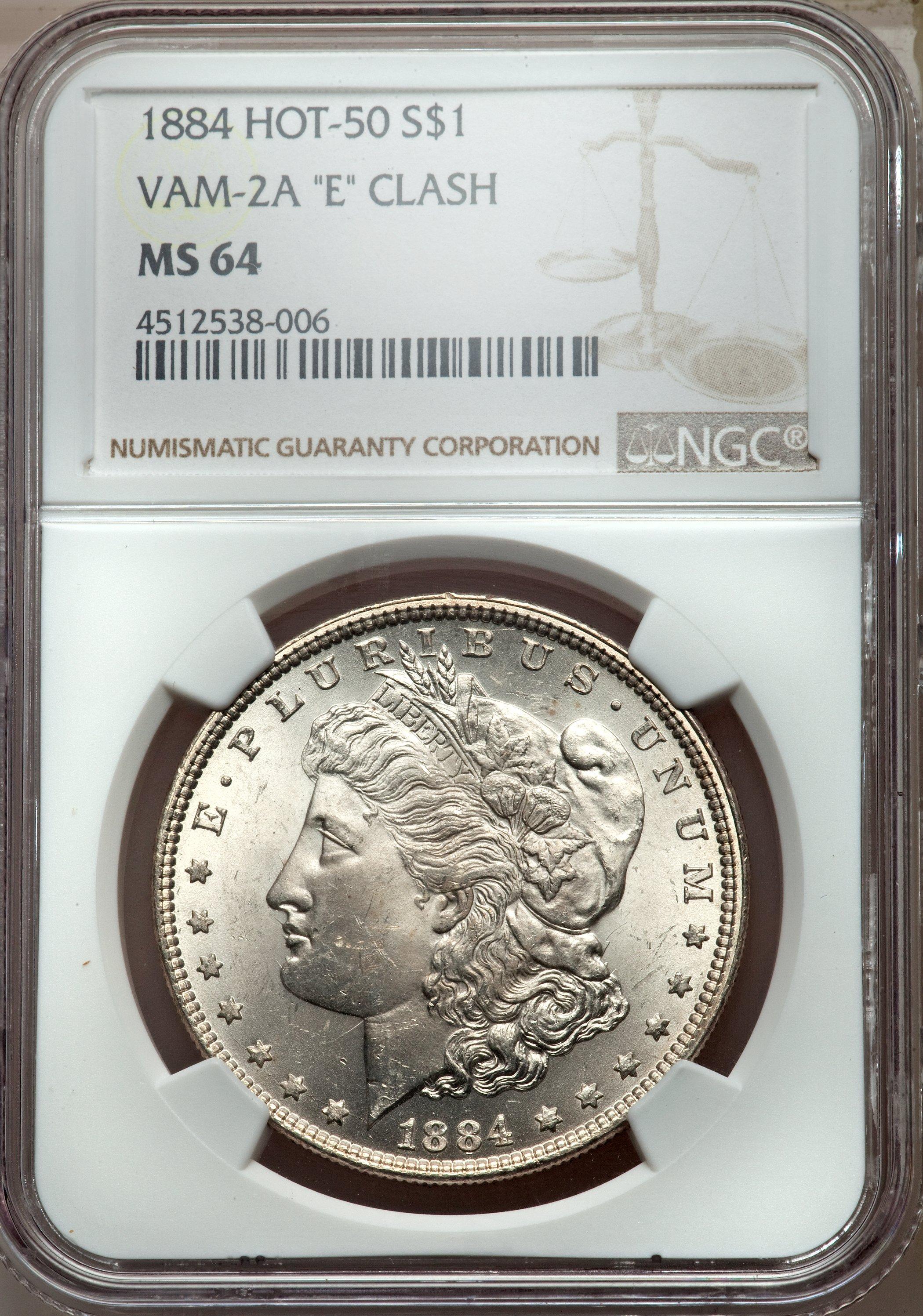 sample image for 1881-S $1  MS VAM-4