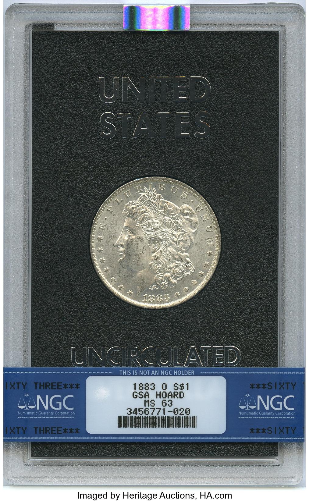 sample image for 1883-O $1  MS GSA Hoard