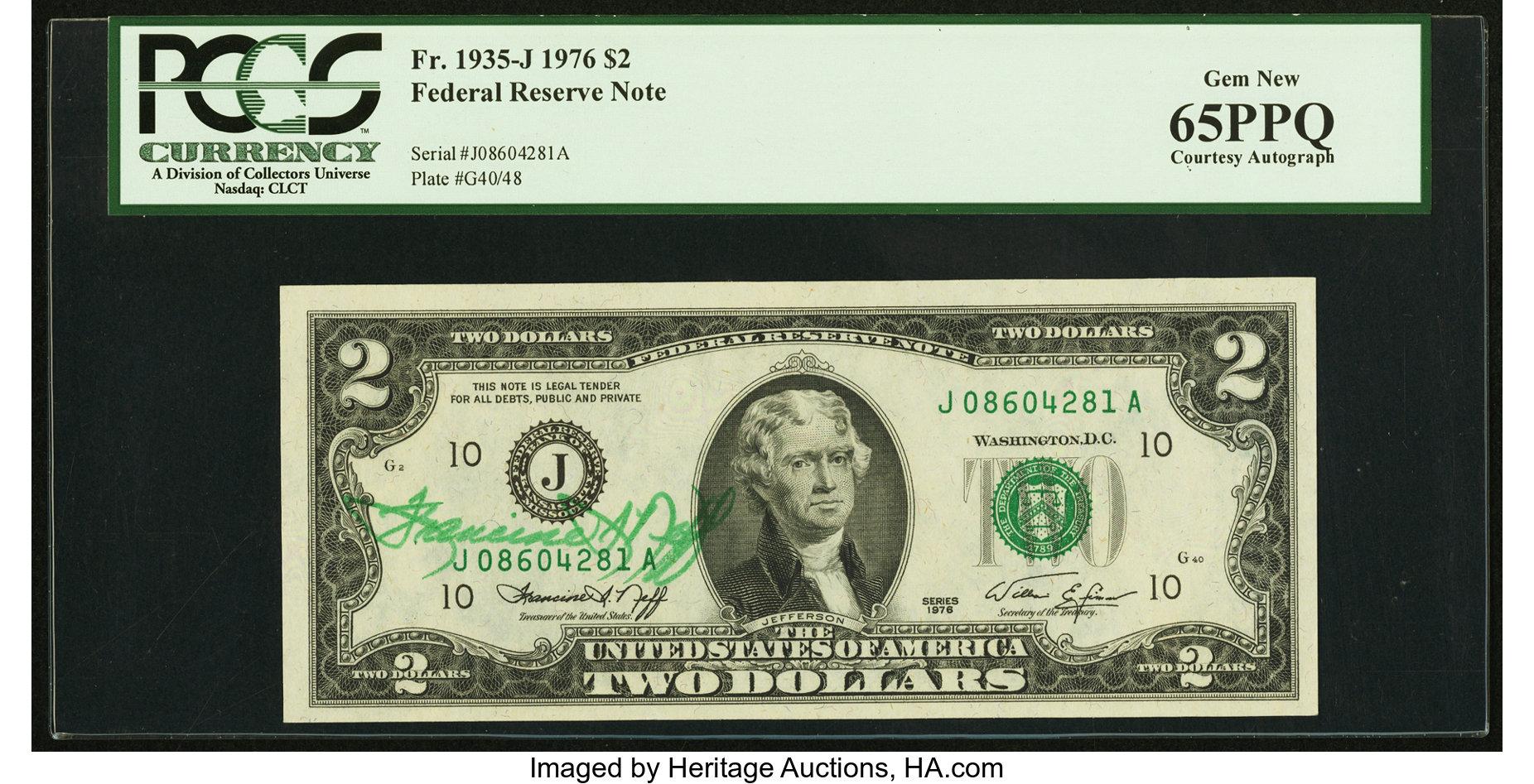 sample image for 1976 $2  Kansas City (Fr.# 1935J)