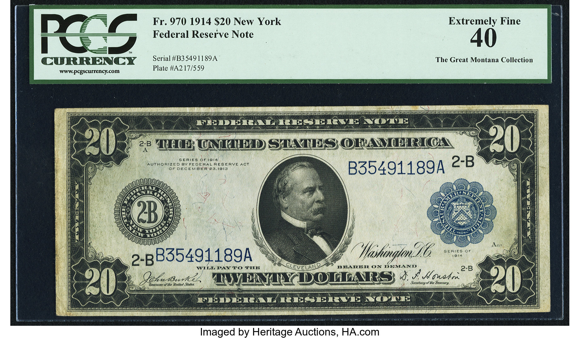 sample image for Fr.970 $20 NY