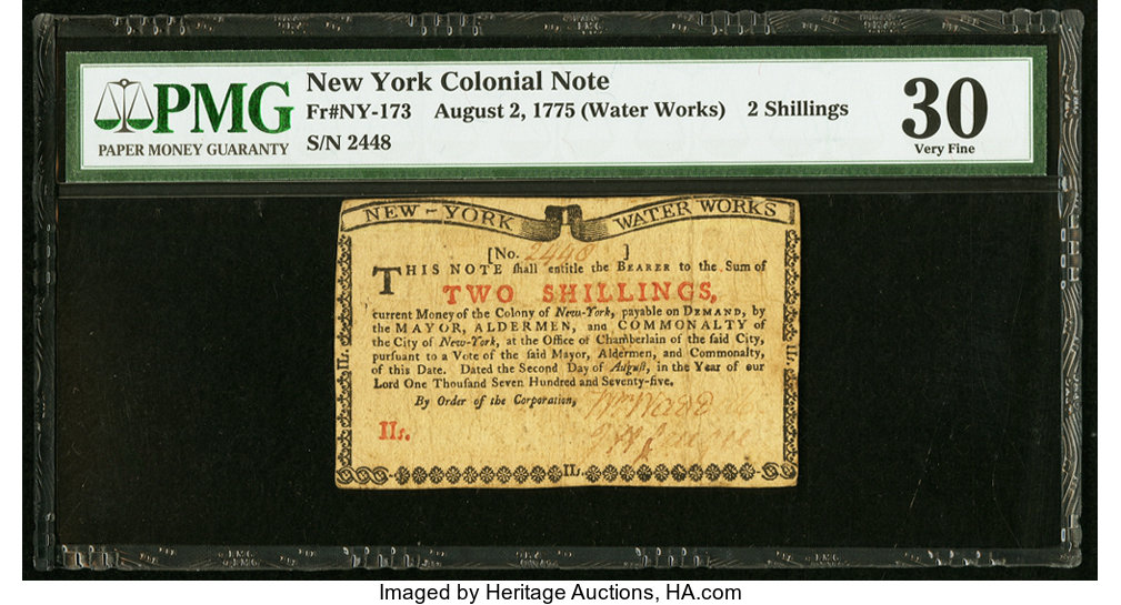 sample image for 1775 2-Aug 2s (Fr.# NY173)