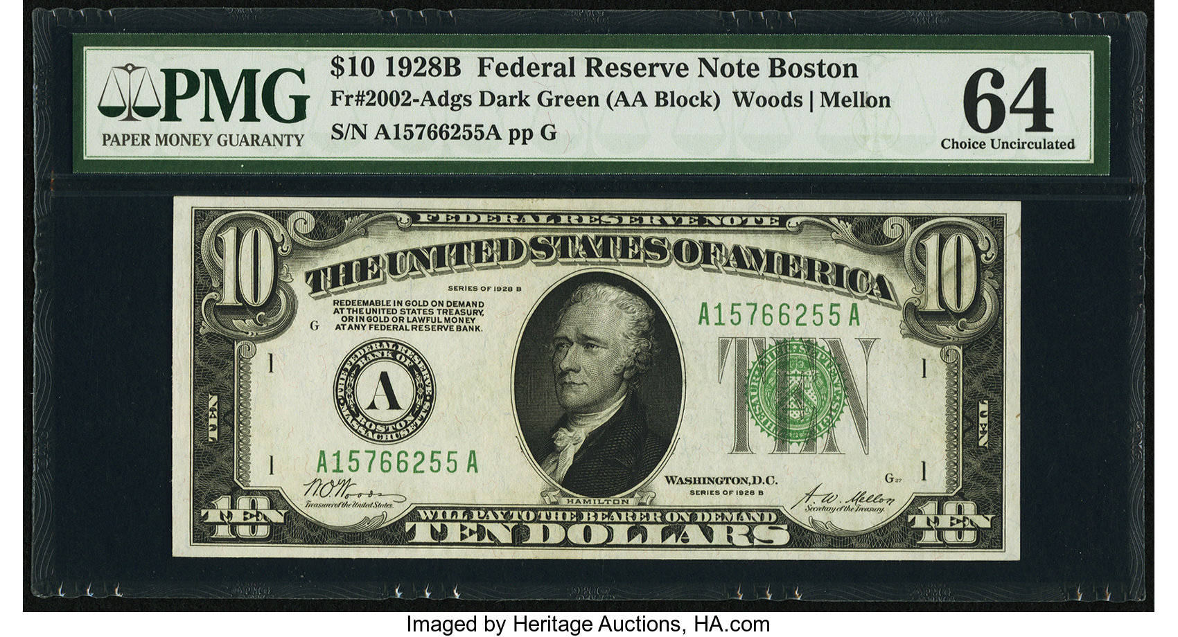 sample image for Fr.2002A $10