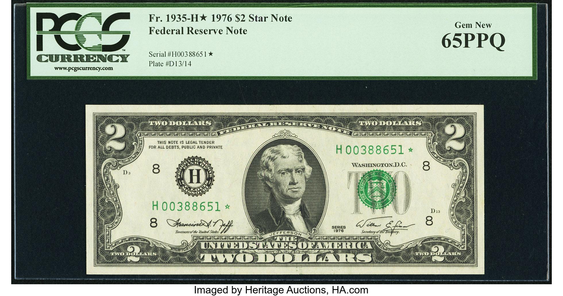 sample image for 1976 $2  St. Louis (Fr.# 1935H*)