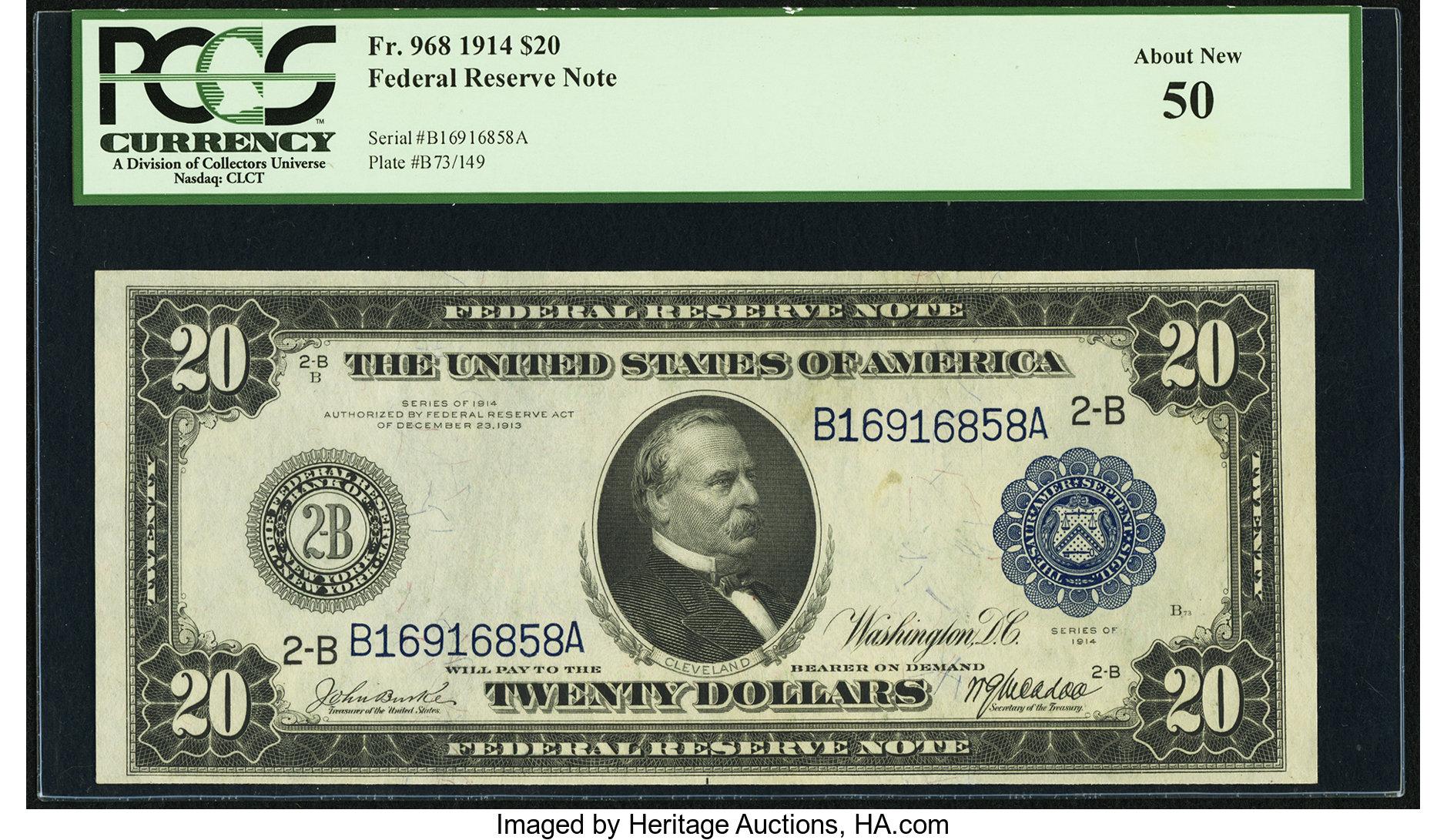 sample image for Fr.968 $20 NY