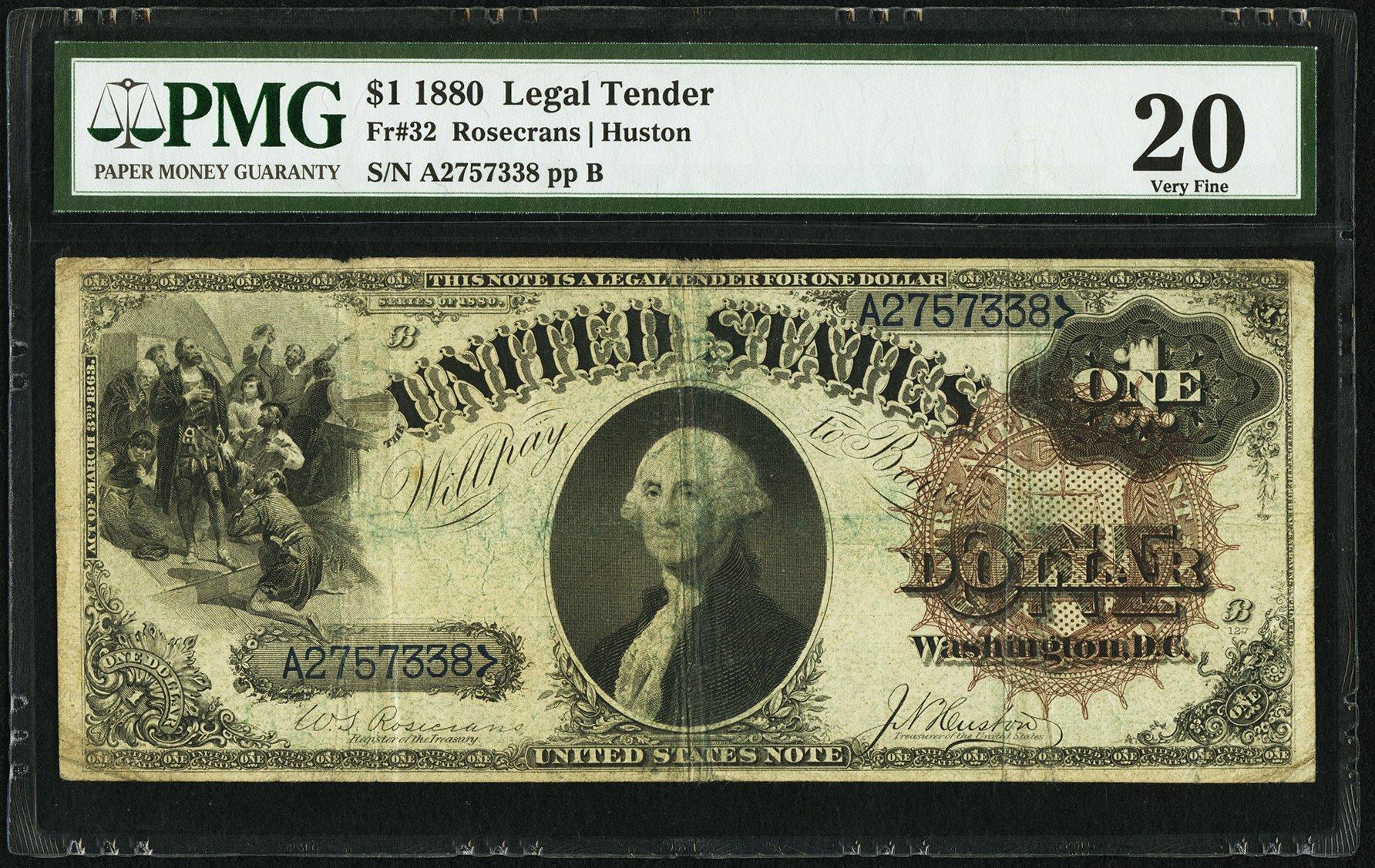 sample image for 1880 $1  (Fr.# 32)